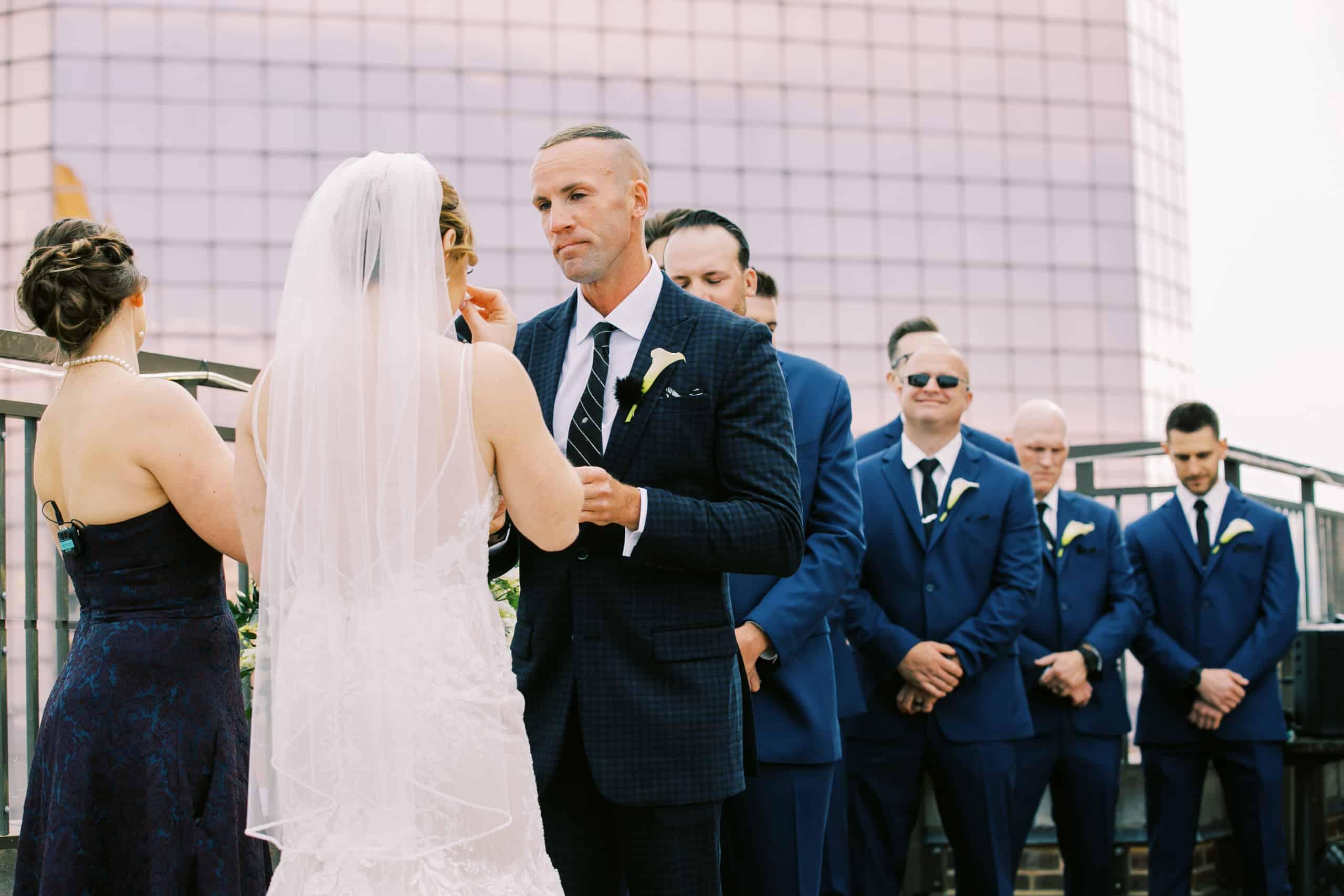 Atlantic City Rooftop Wedding Photographers