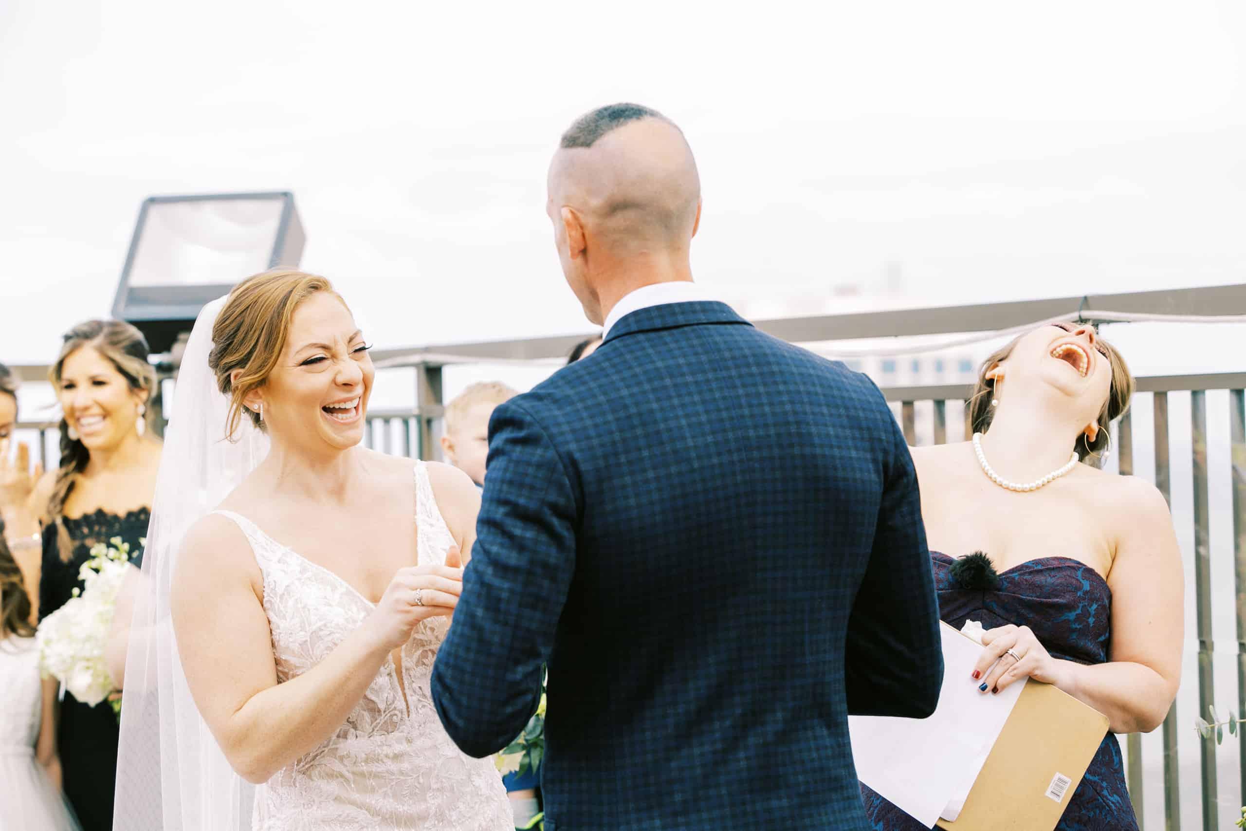 Atlantic City Rooftop Wedding Photographer