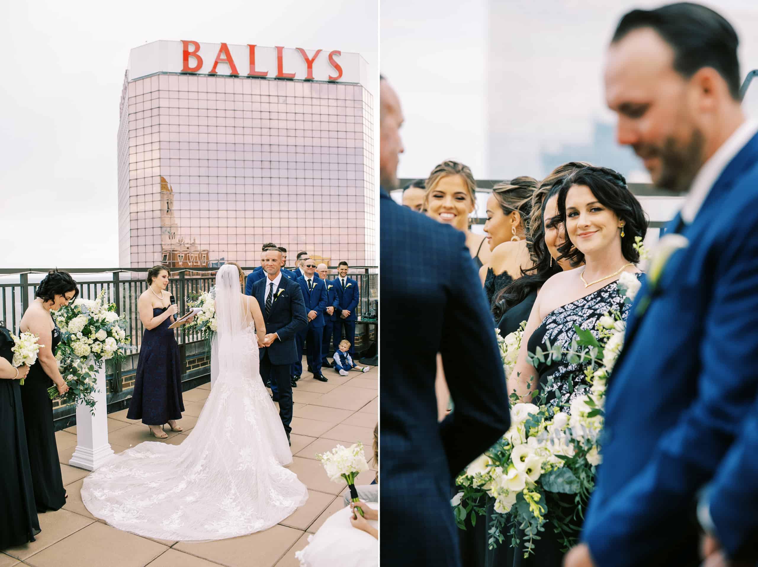 Atlantic City Rooftop Wedding Photos