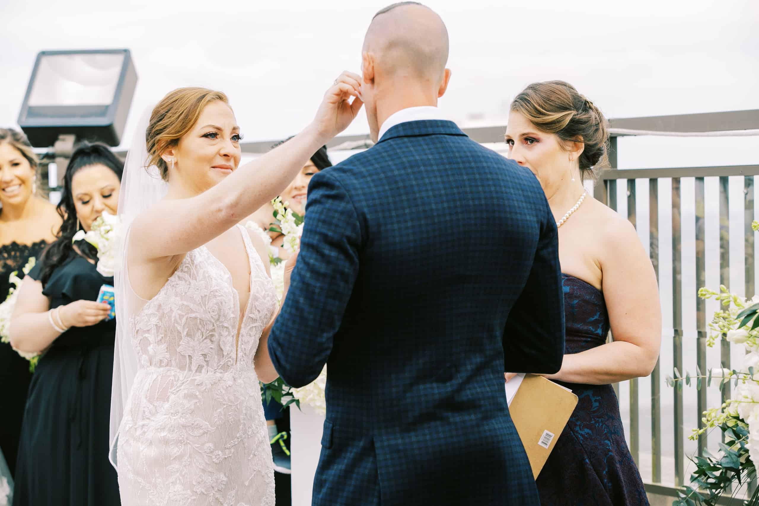 Atlantic City Rooftop Wedding