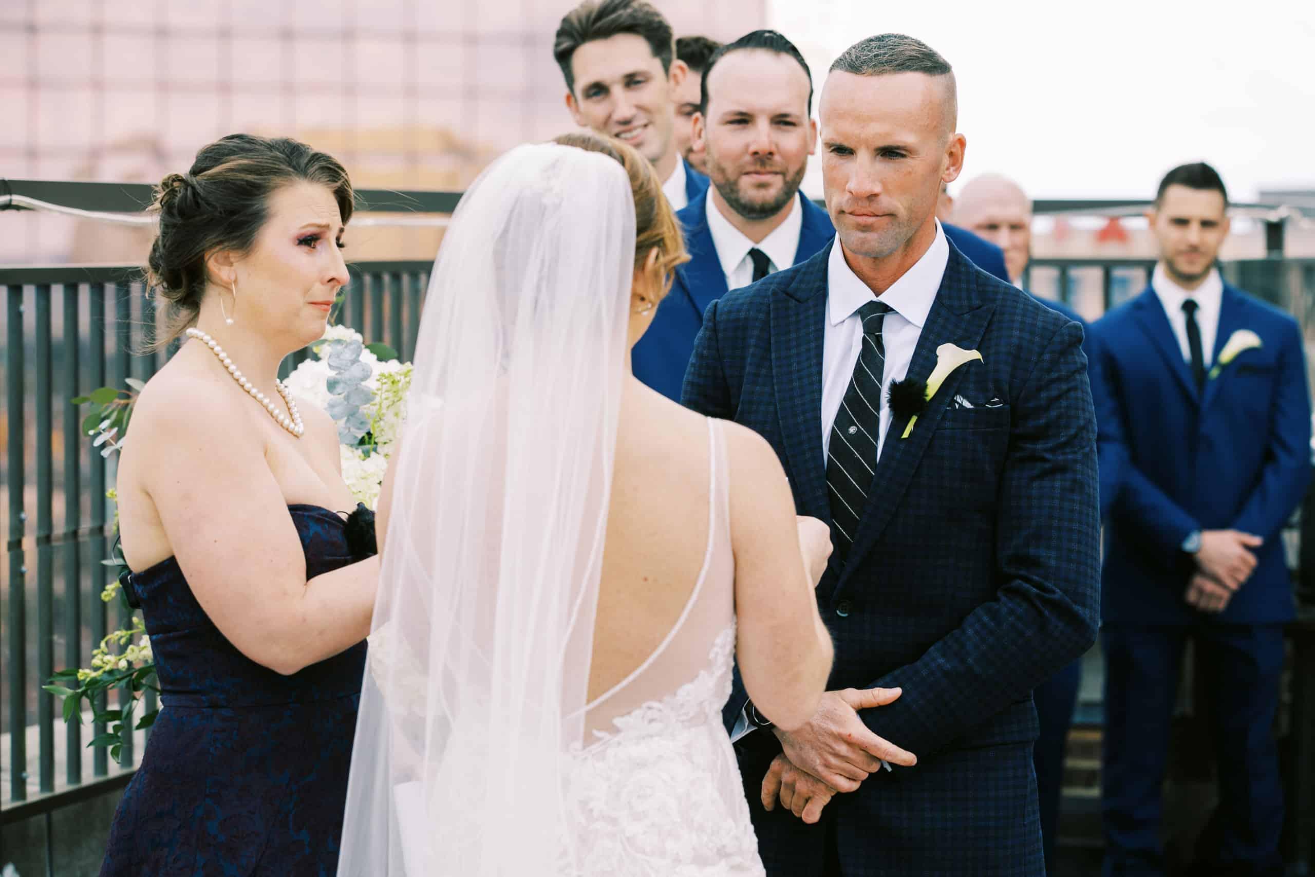 Rooftop weddings at Claridge Hotel in Atlantic City