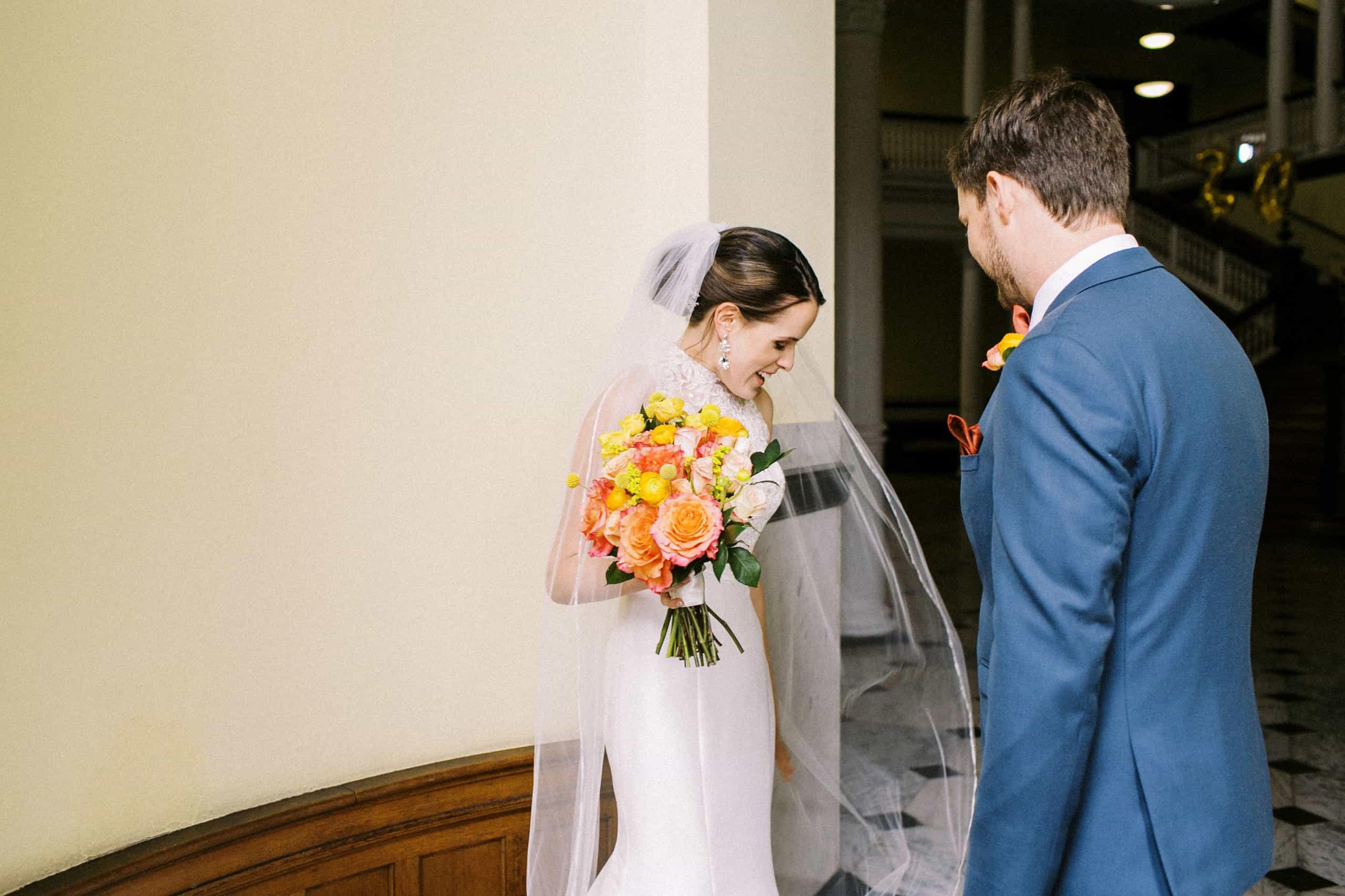 Chestnut Hill College Wedding Photographer