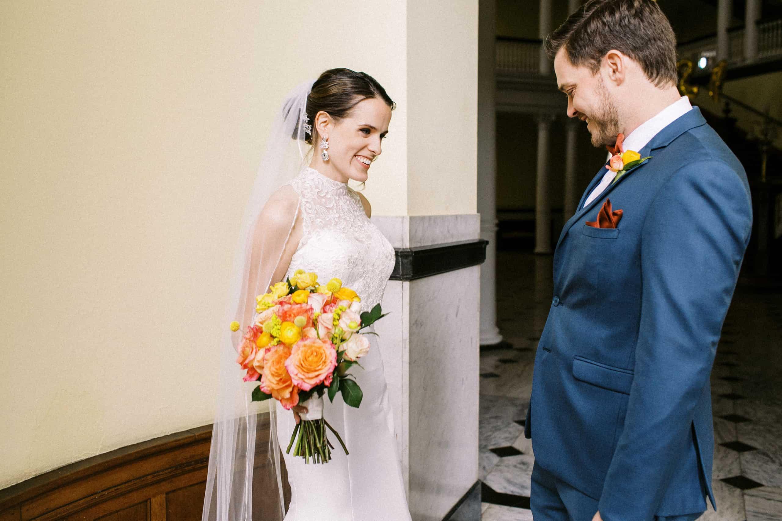 Chestnut Hill College Wedding Photography