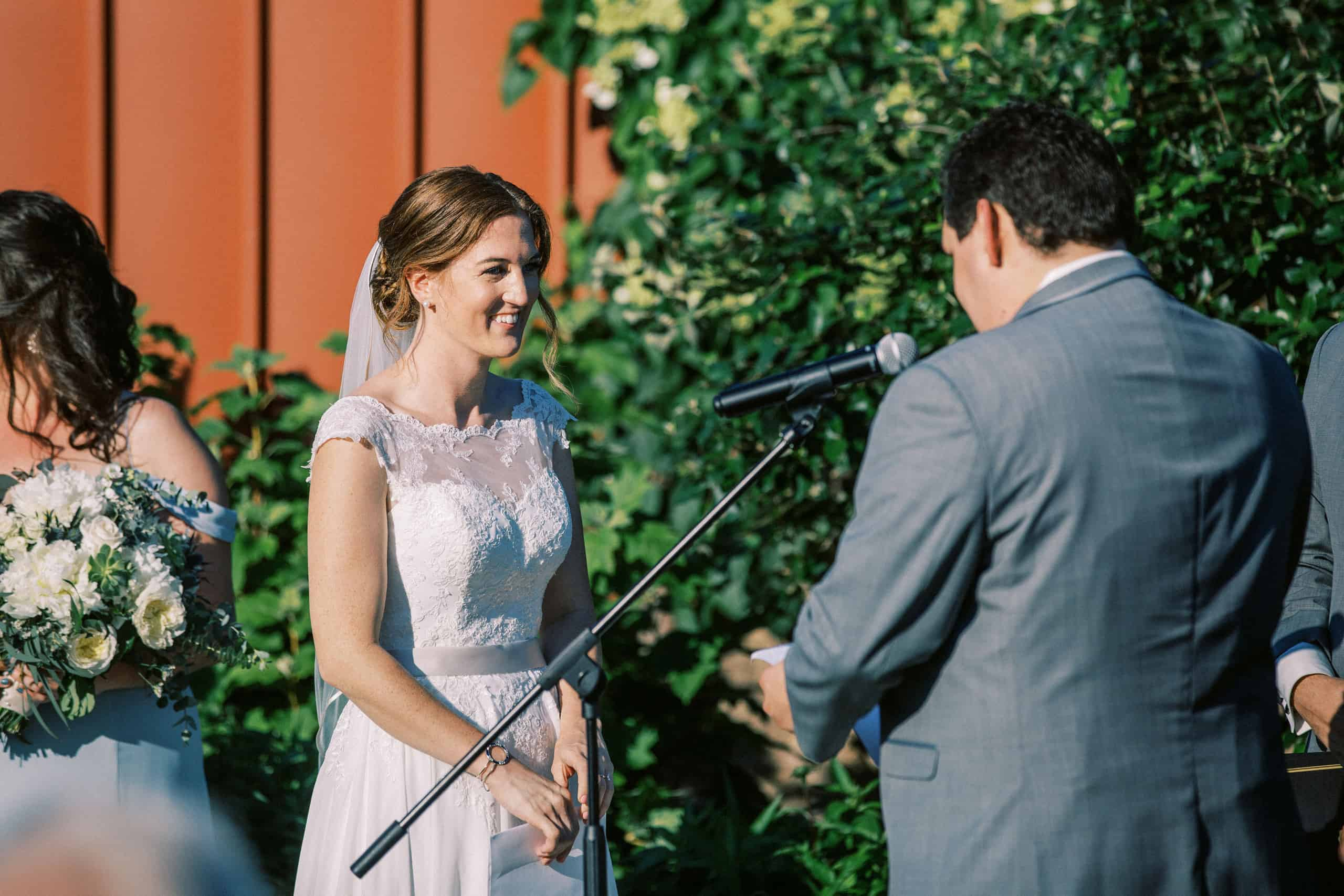 Wedding Ceremony photos Old York Road Country Club