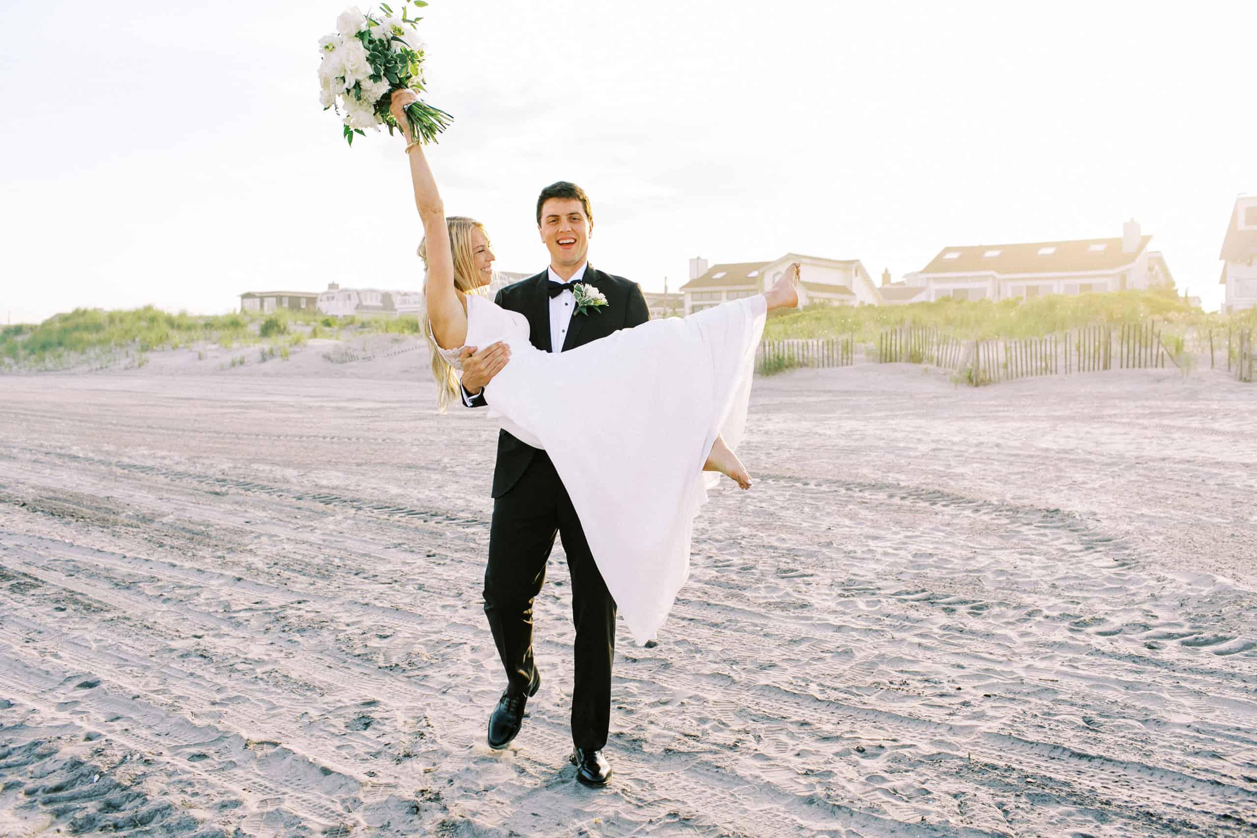 Beach wedding new jersey