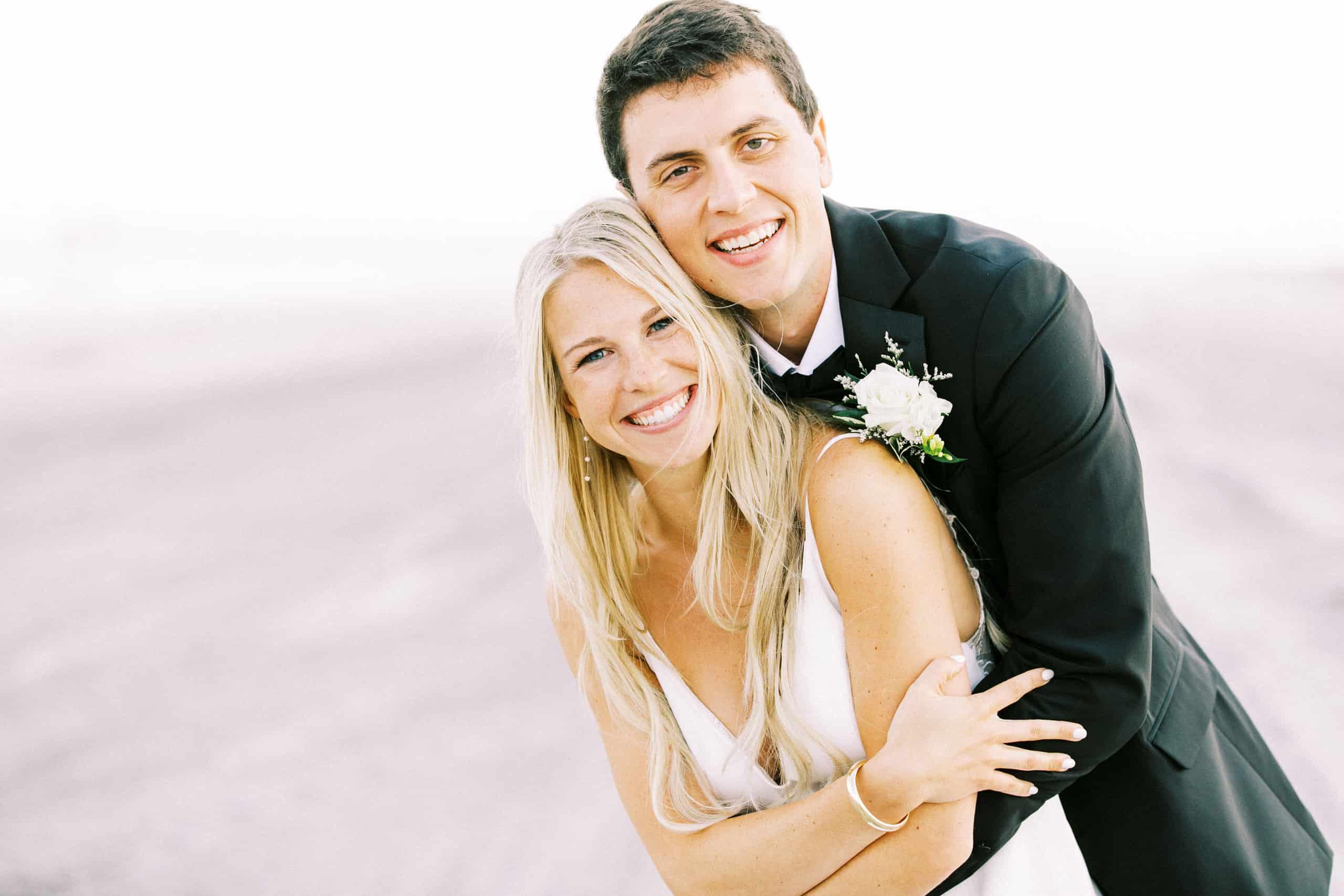 Beach Wedding photos Avalon New Jersey