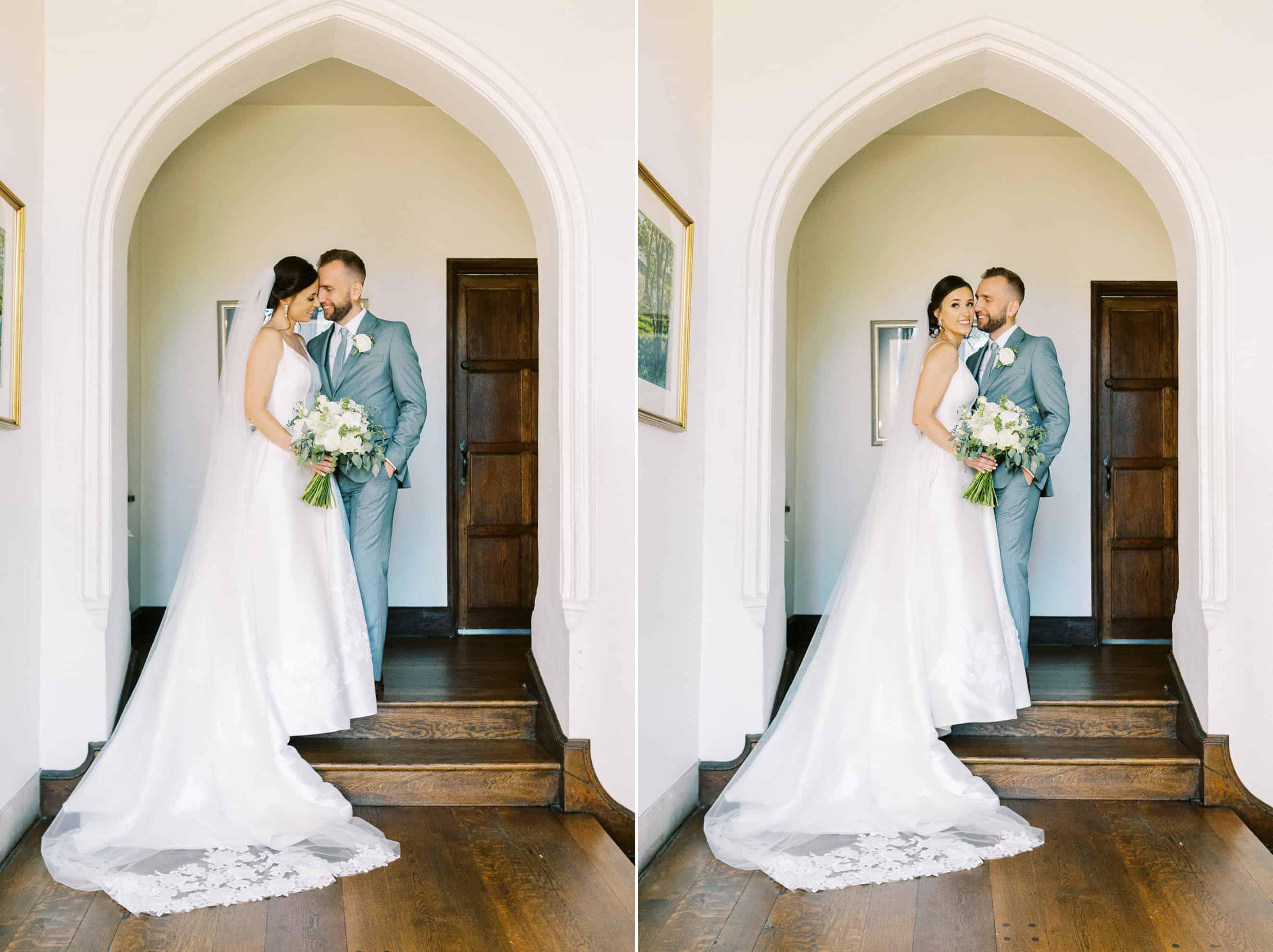 wedding couple aldie mansion