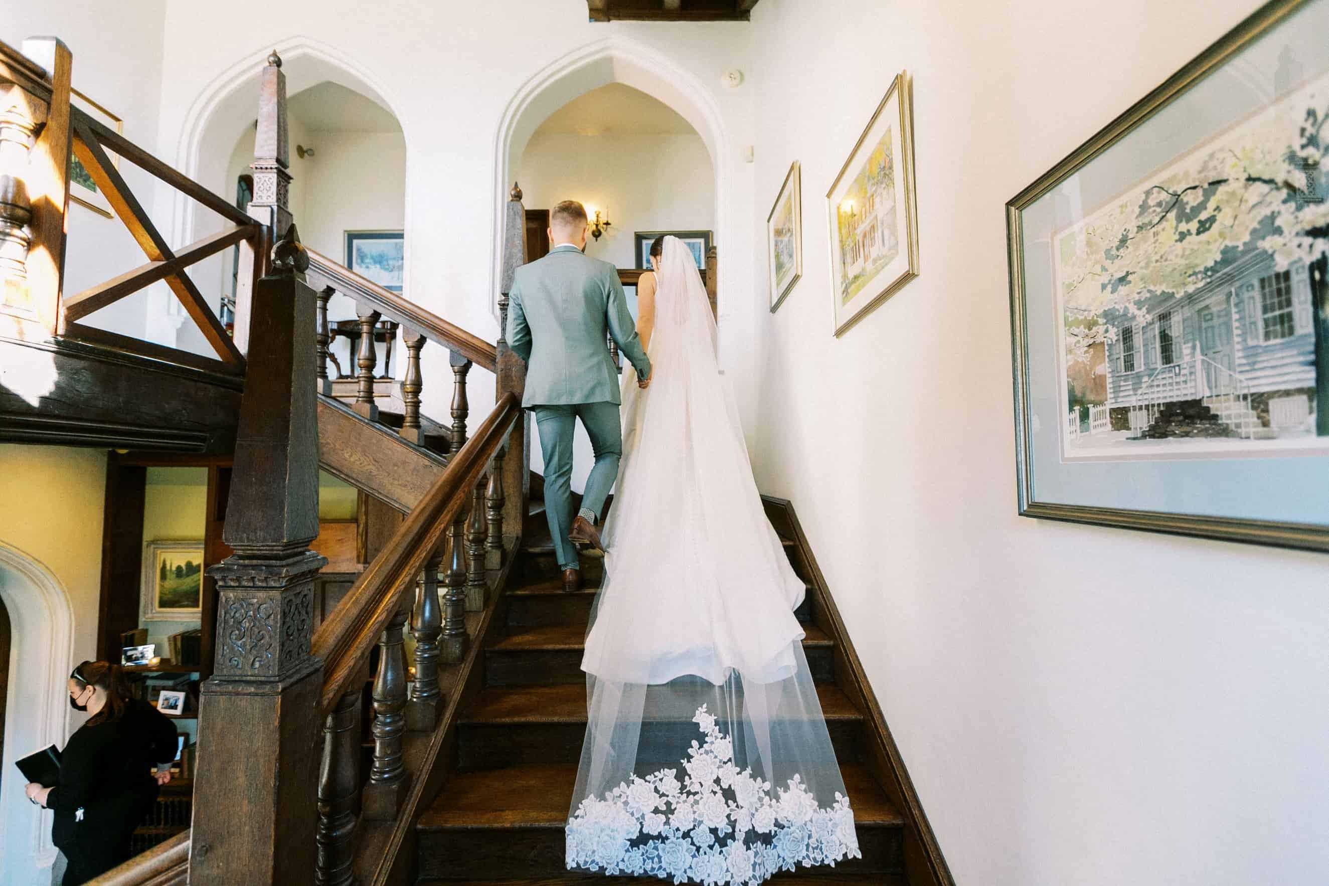 stairway at aldie mansion