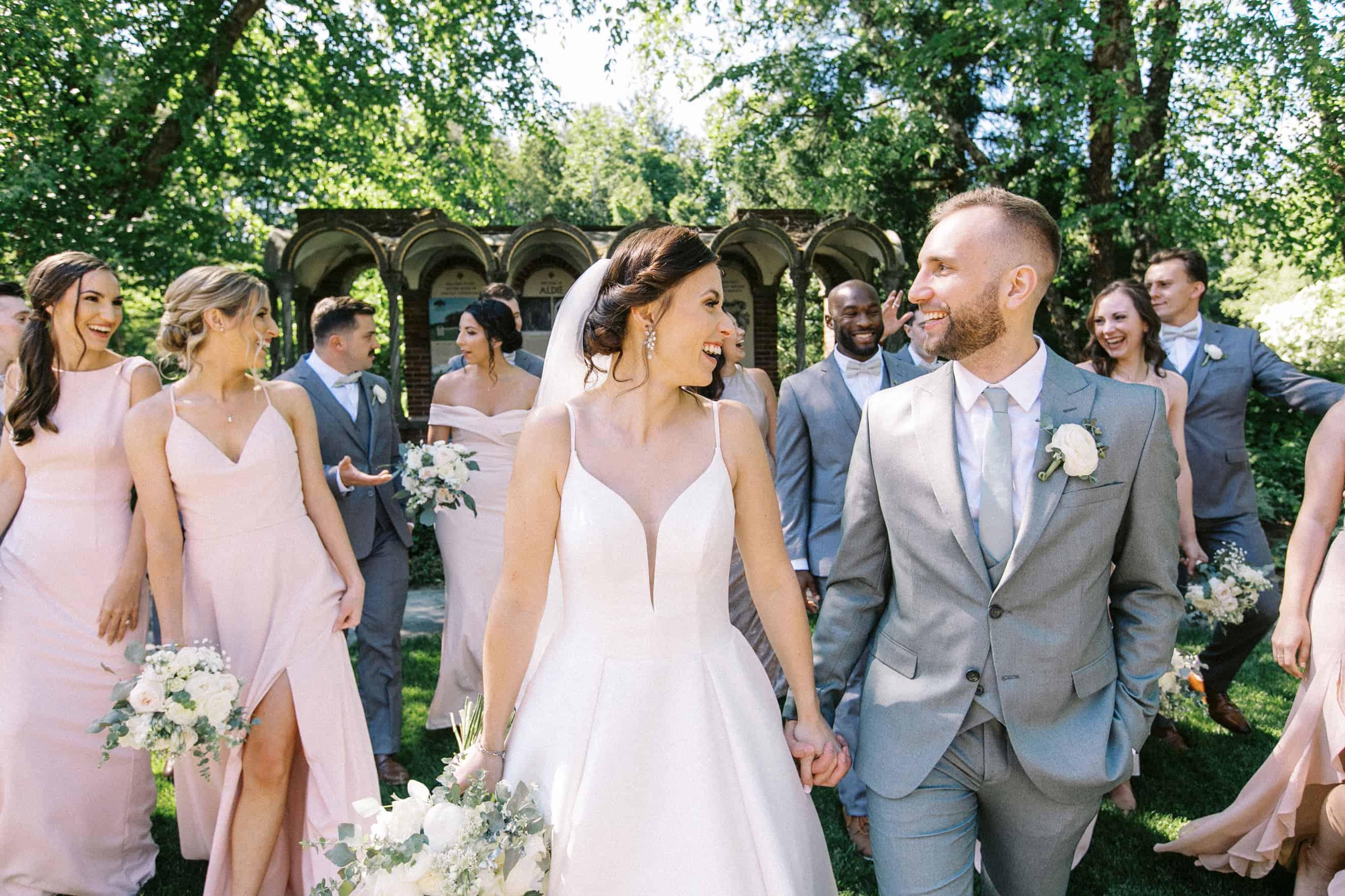 Aldie Mansion Wedding Party