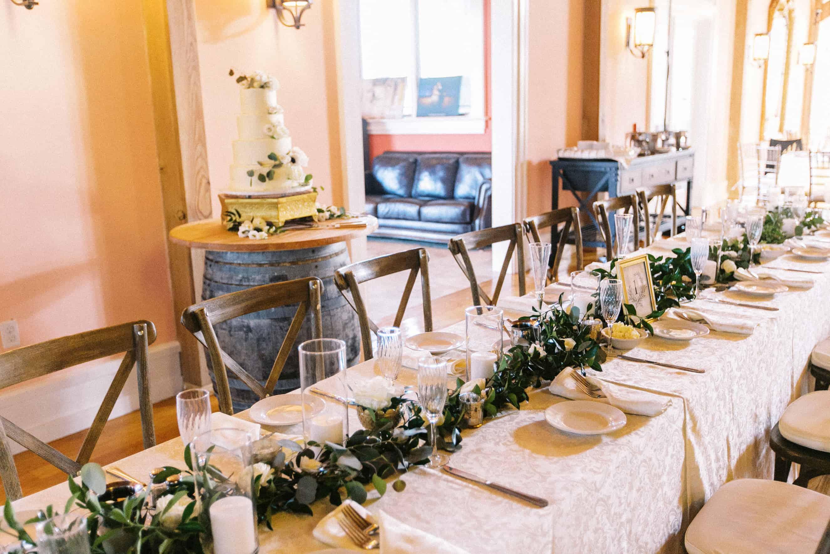 Wedding Reception Willow Creek Winery