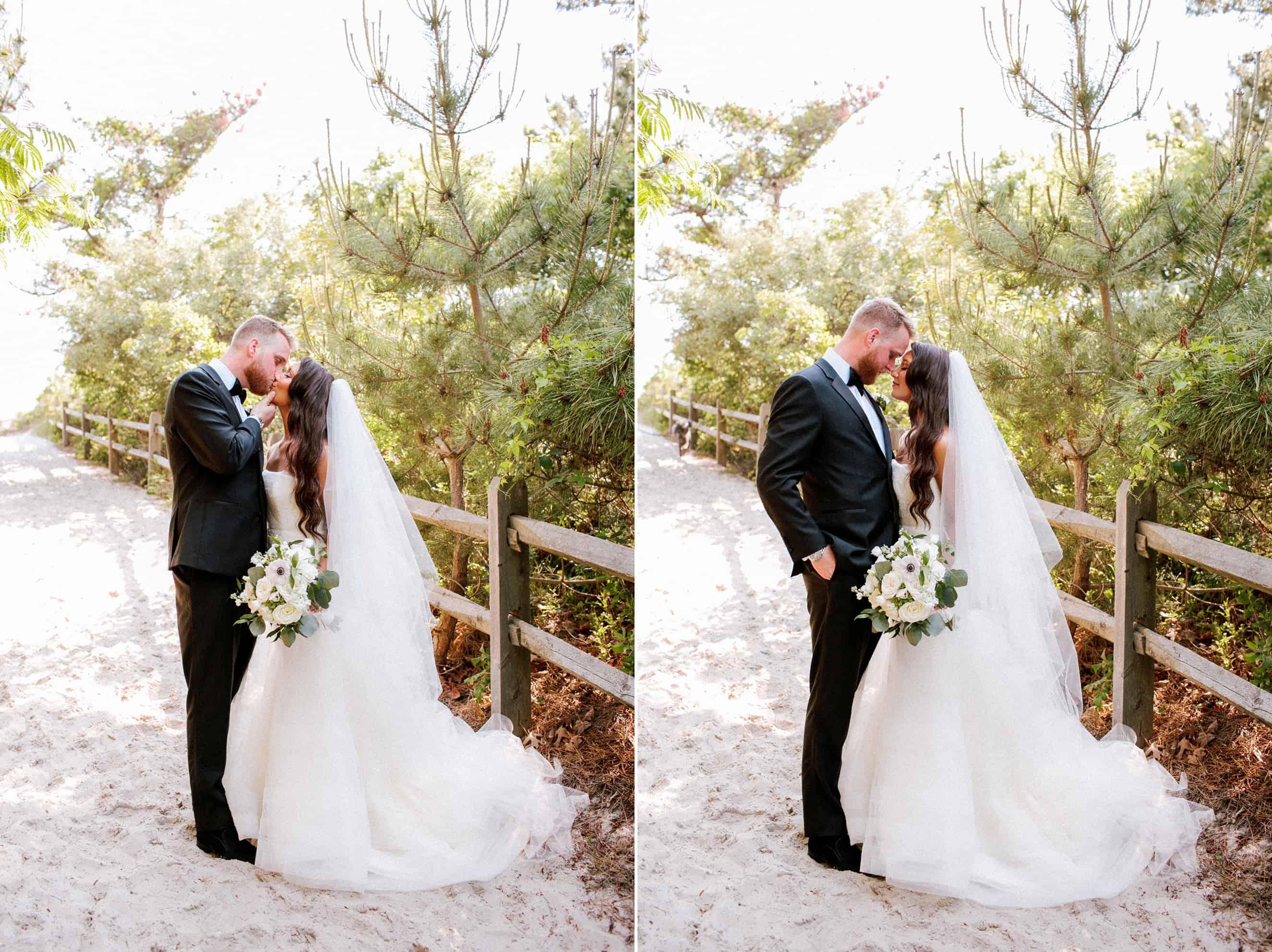 Beach Wedding photos in New Jersey