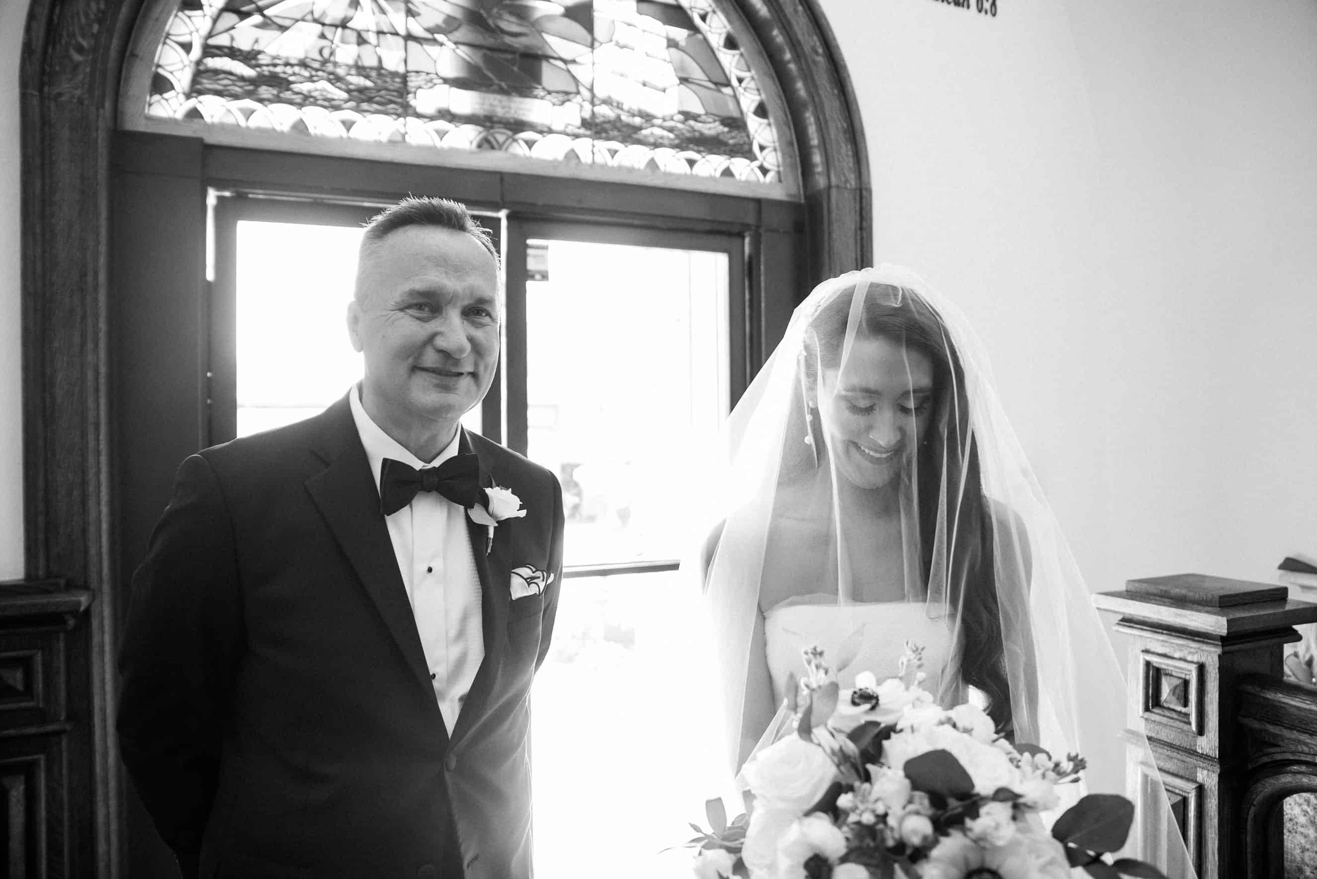 our lady Star of the sea wedding photos