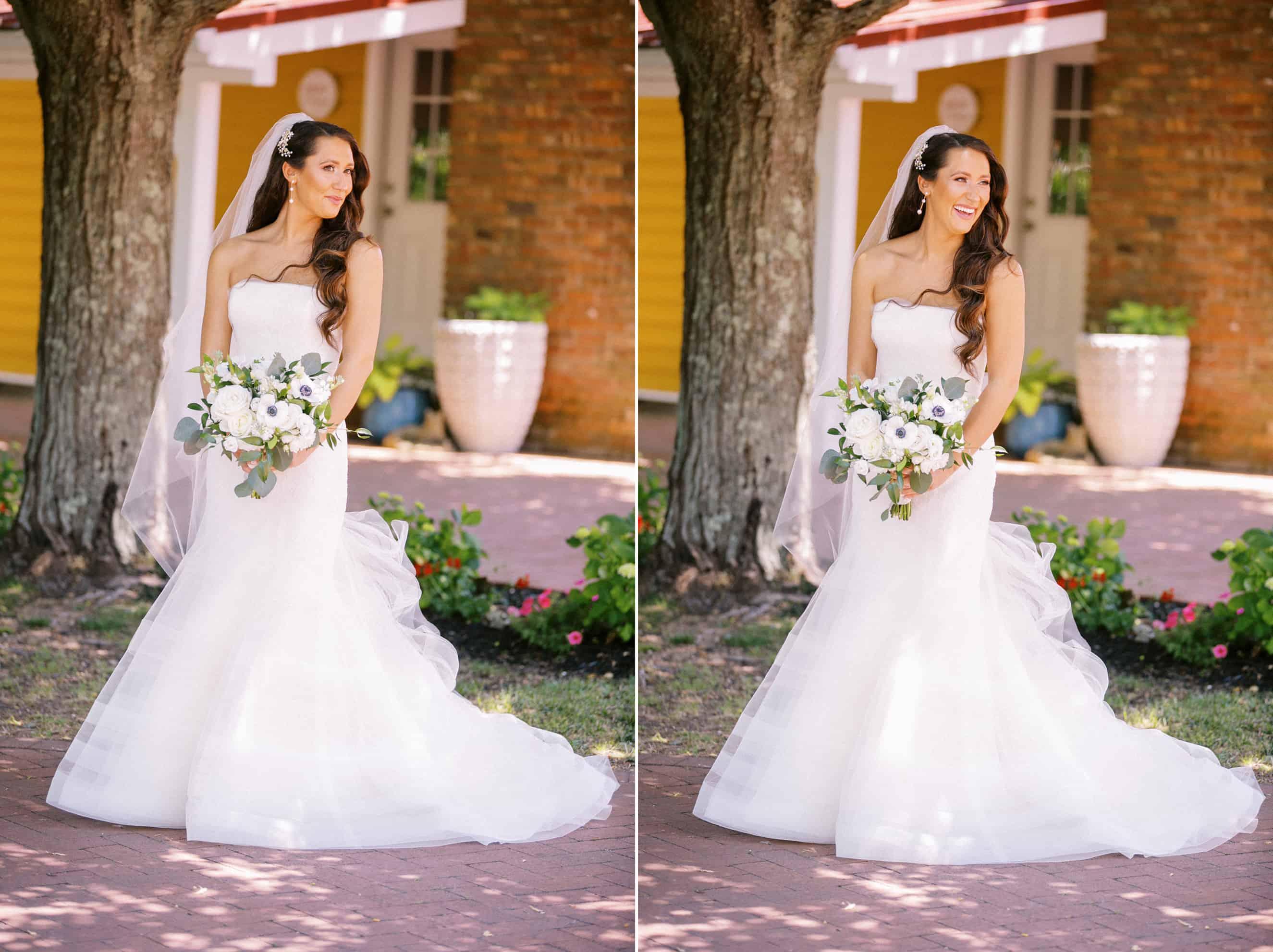 Outdoor Wedding Photos in Cape May