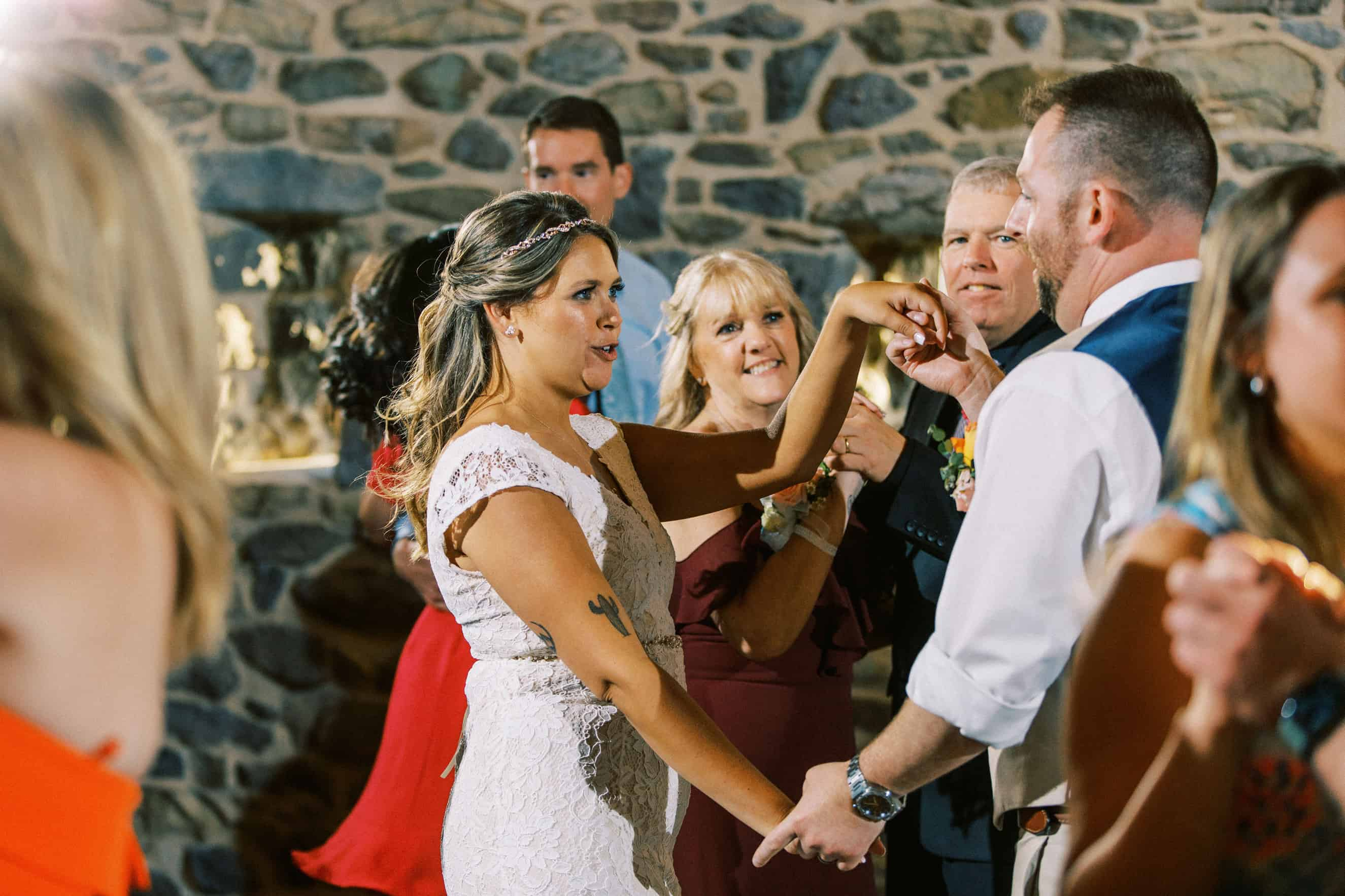 Harvest View at Hershey Farms Wedding Reception Pictures