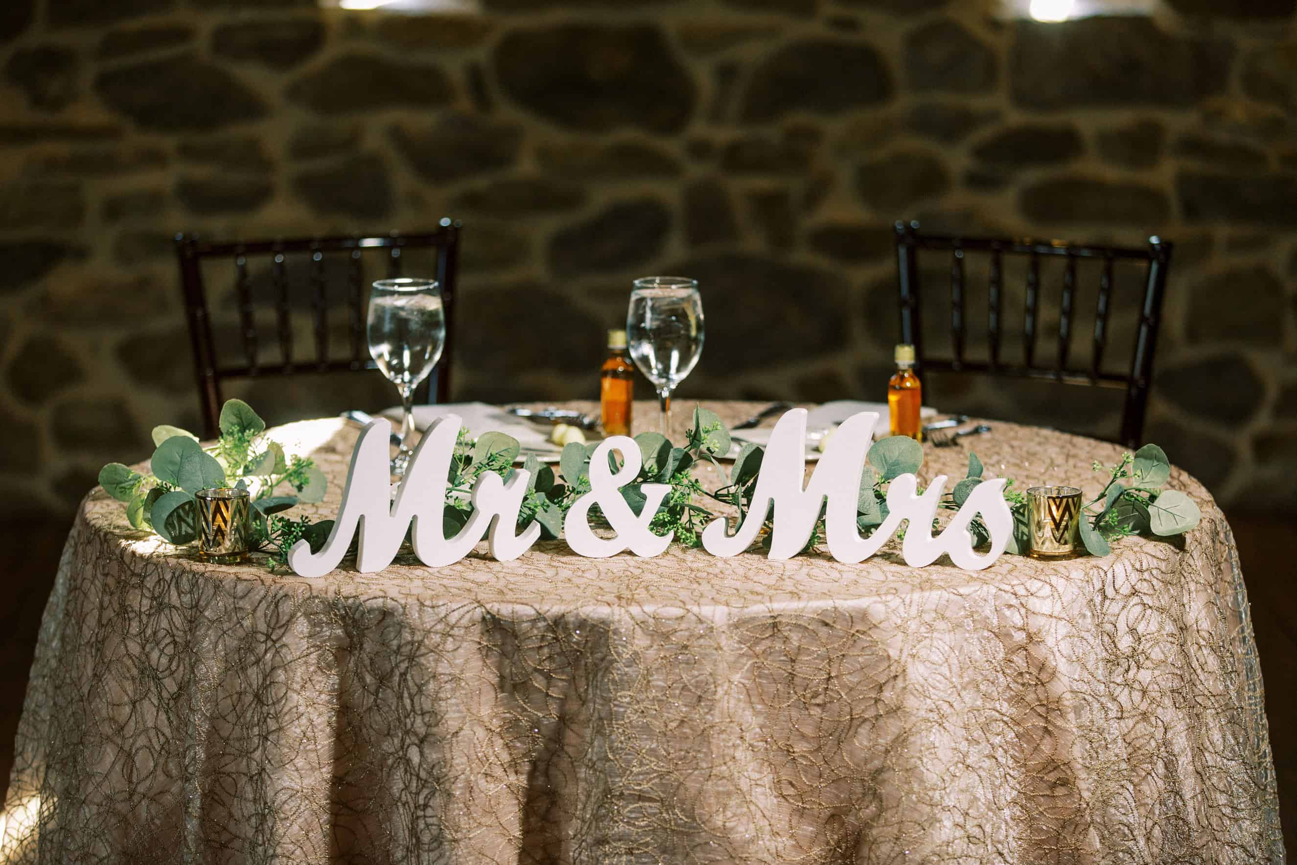 Wedding Reception at Harvest View Barn at Hershey Farms