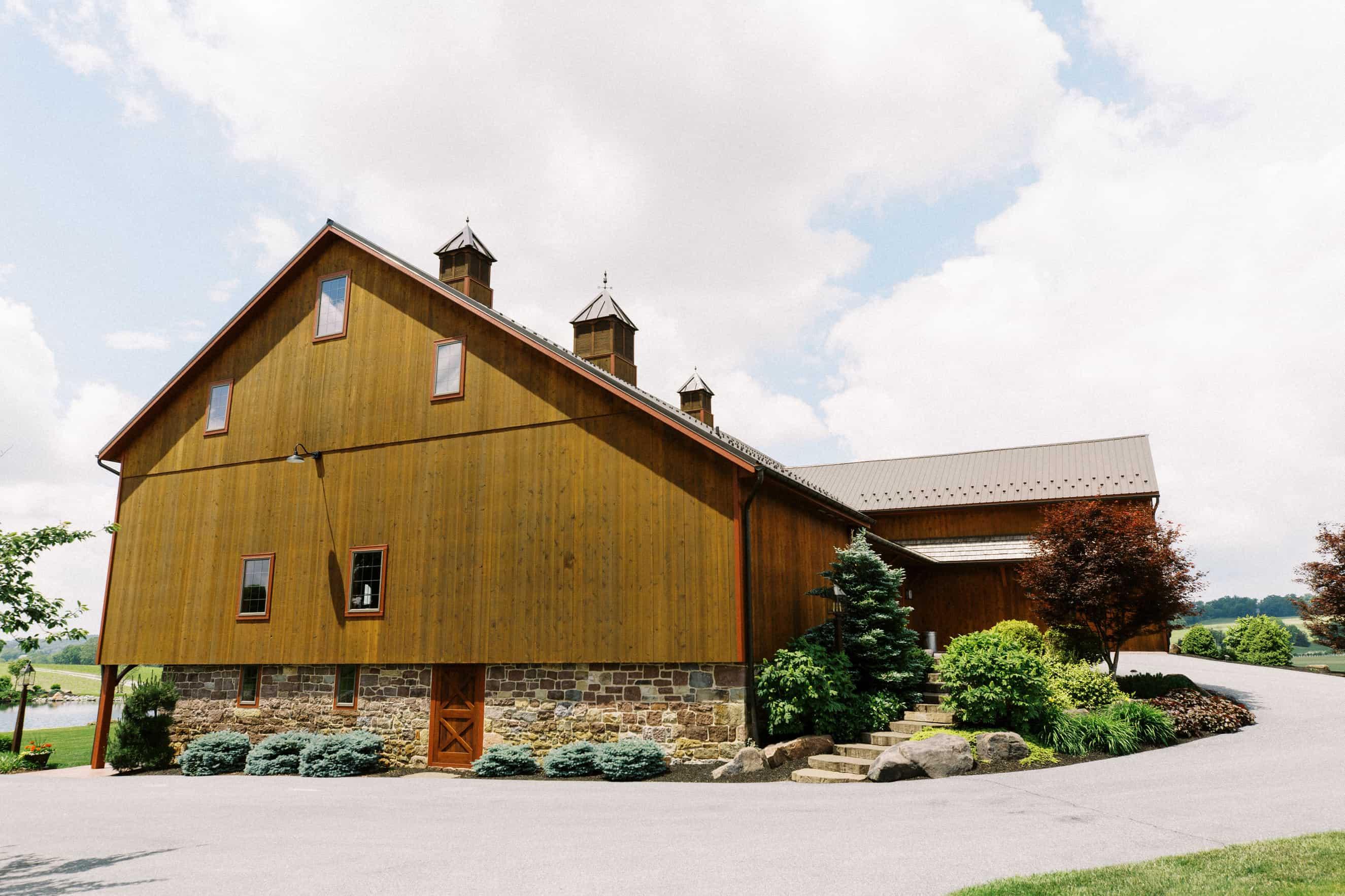 Harvest View Barn at Hershey Farms Wedding
