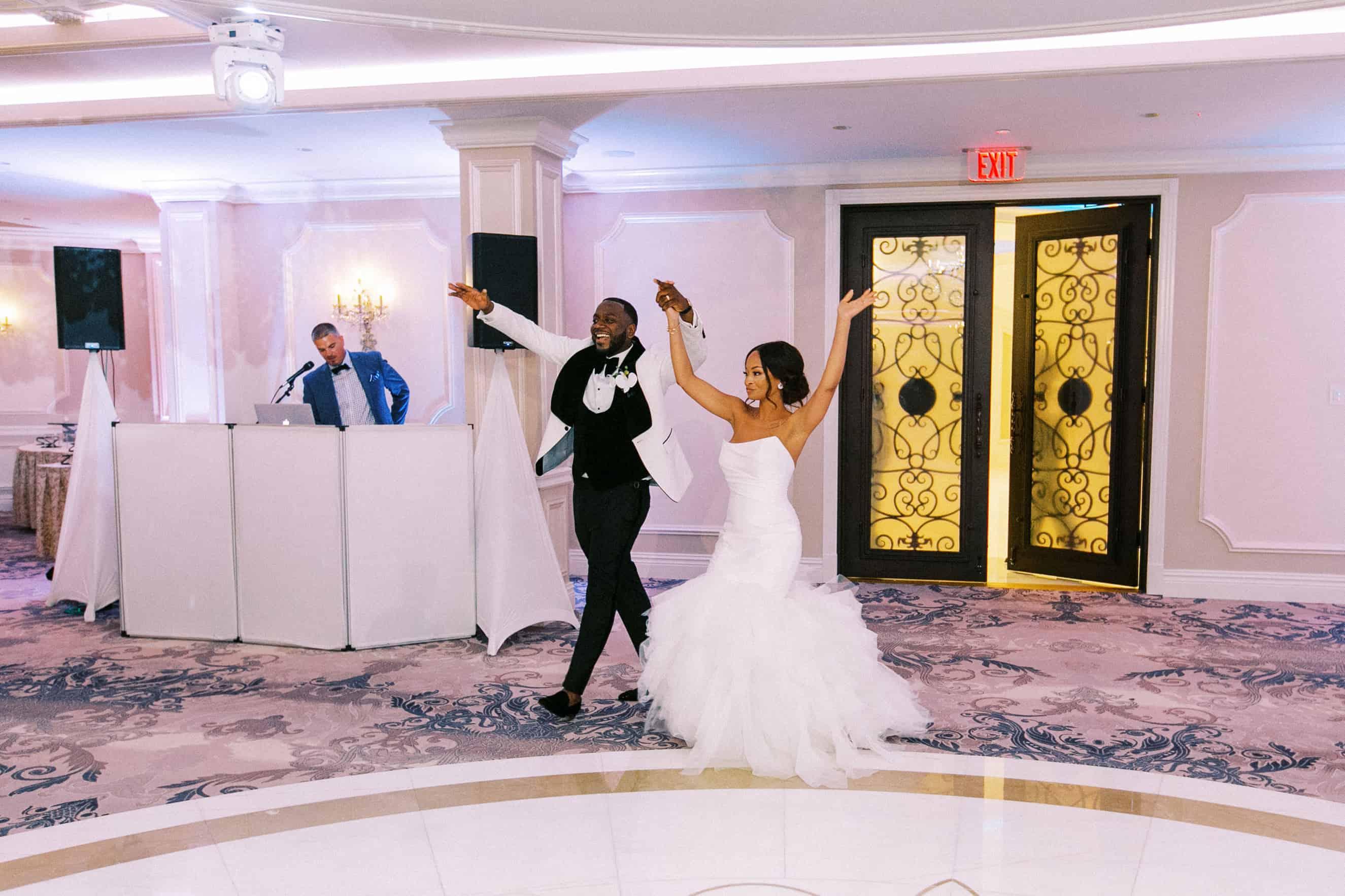 Mansion on Main Street Wedding Reception Pics