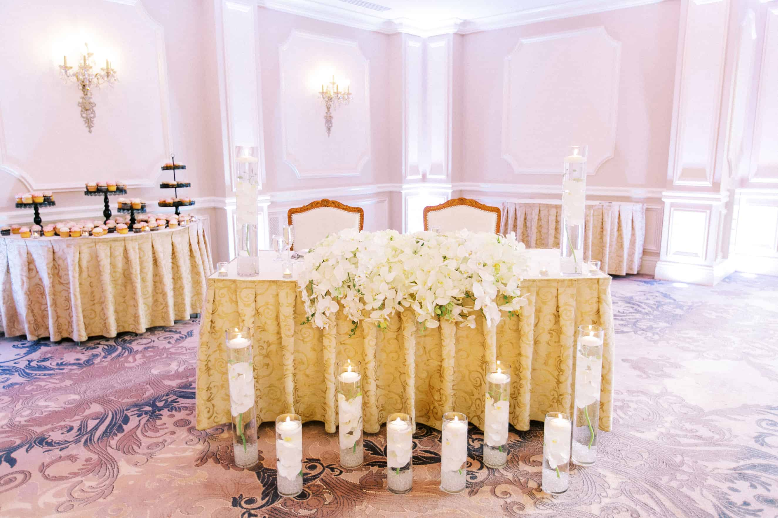 Mansion on Main Street Wedding Reception Pictures