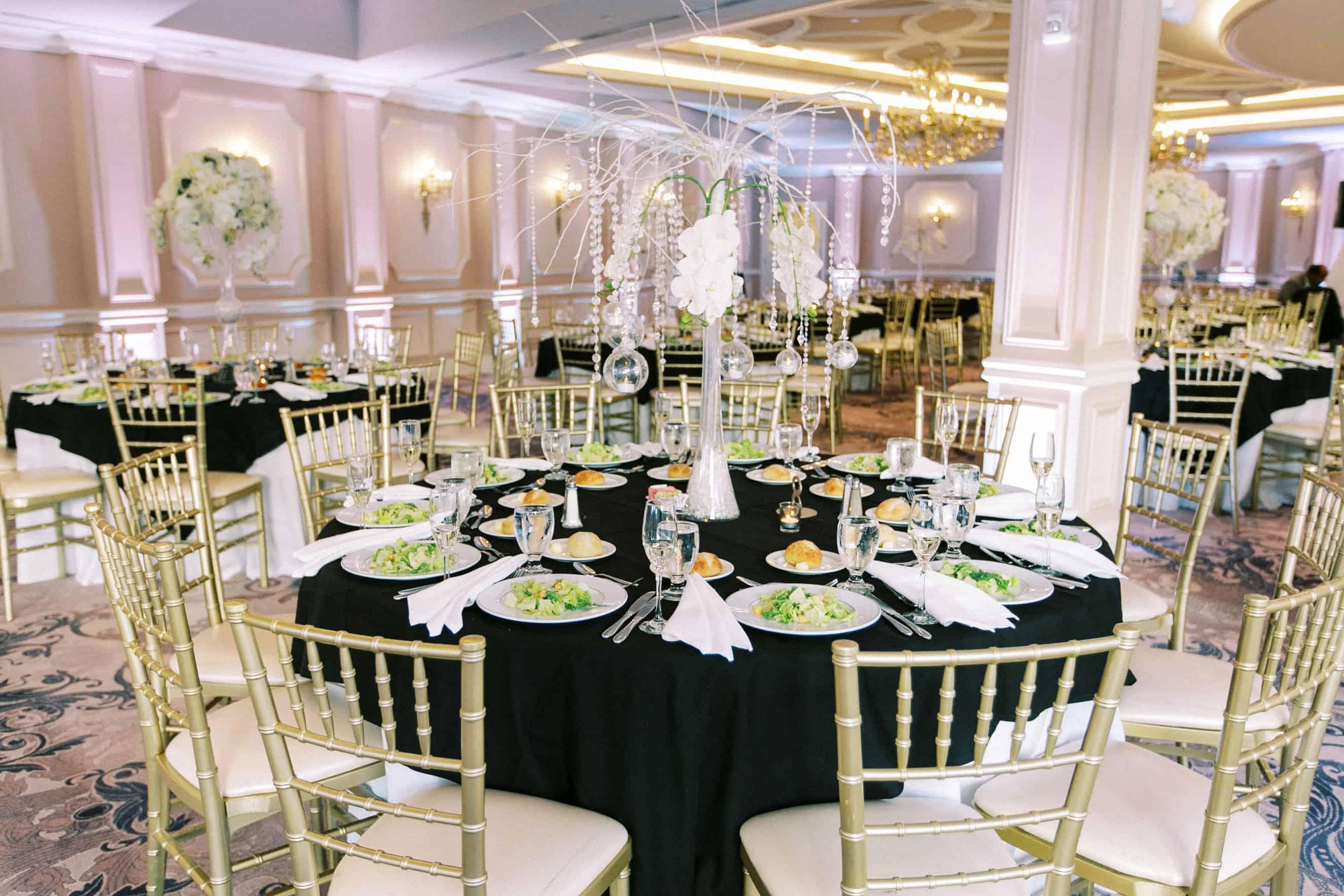 Mansion on Main Street Wedding Reception Photos