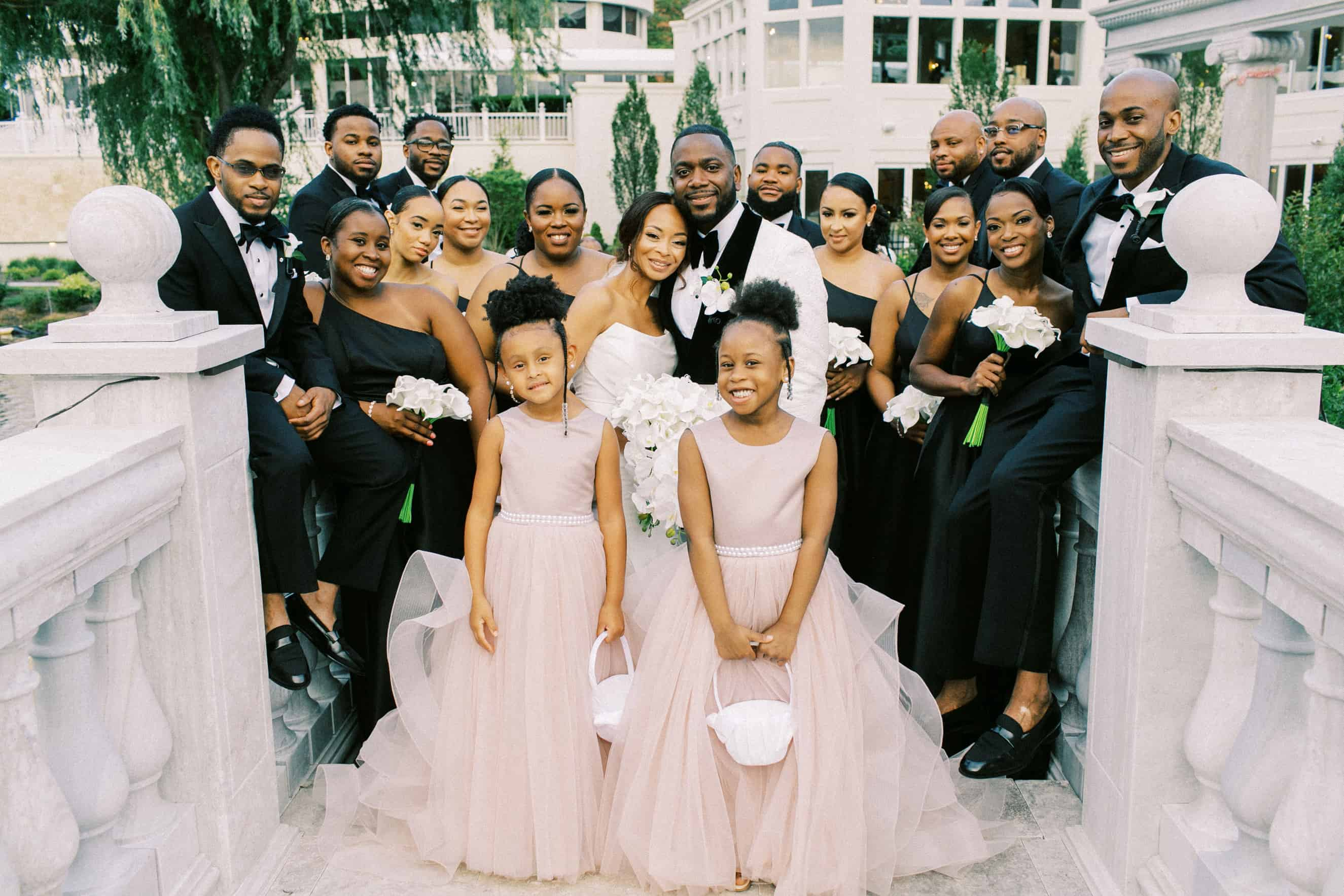 Mansion on Main Street Wedding Party