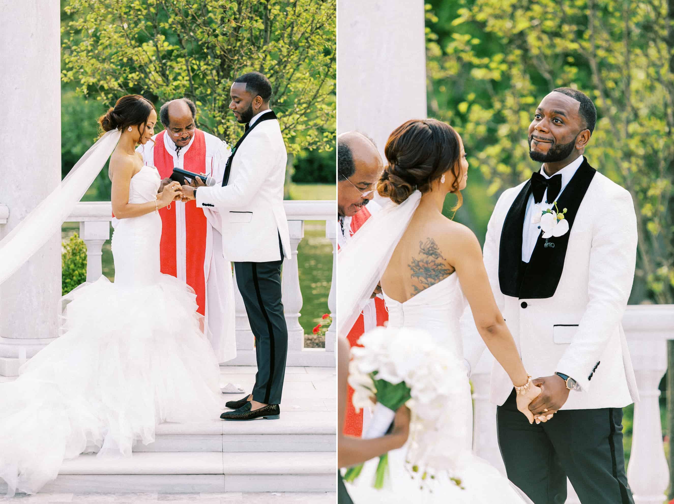 Philadelphia Outdoor Wedding Ceremony Location