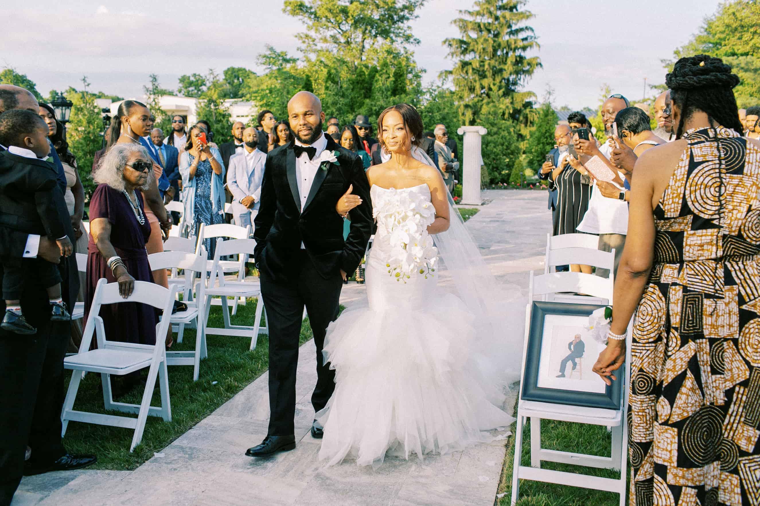 Outdoor Wedding Ceremony Location New Jersey