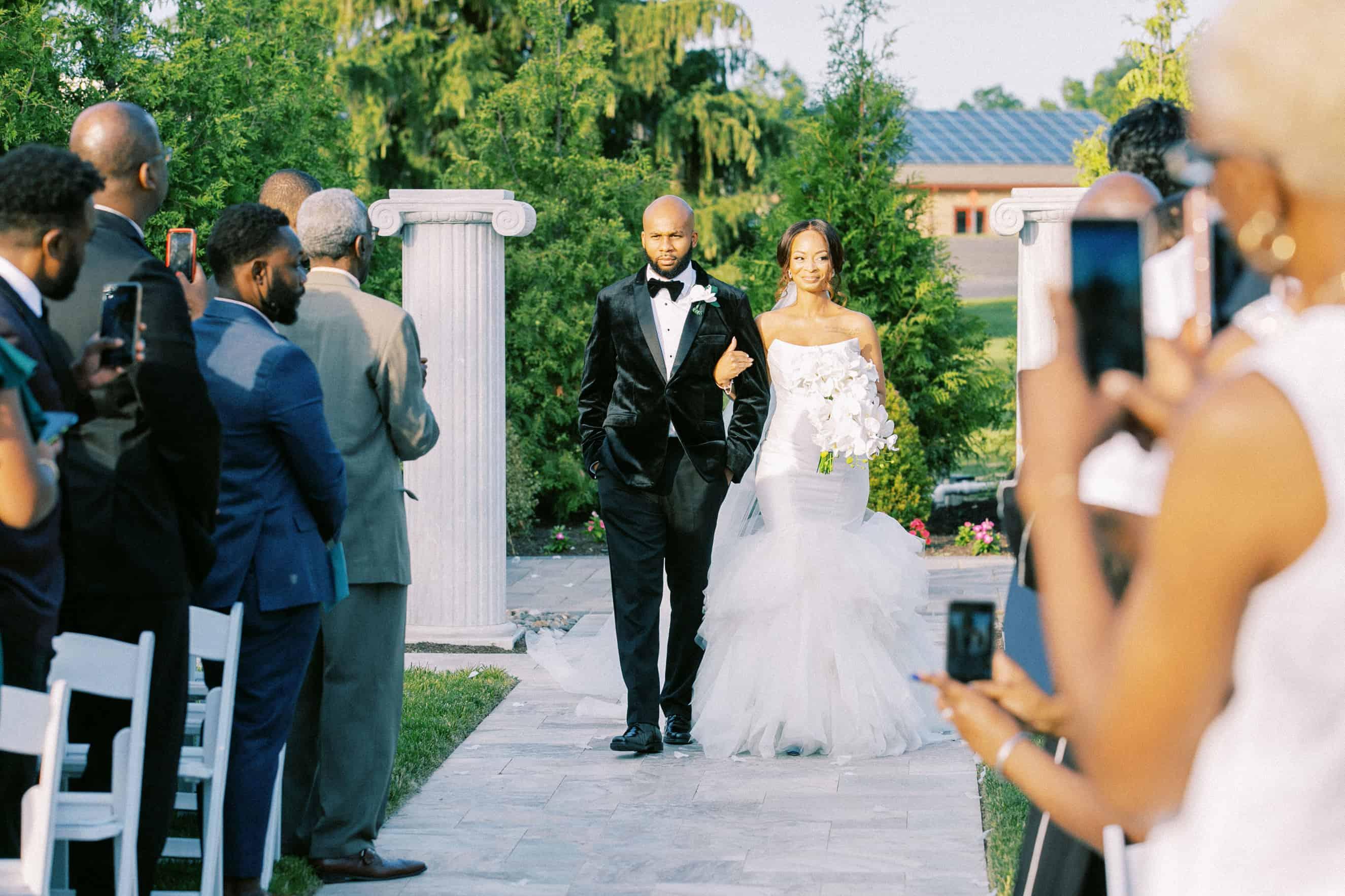 Outdoor Wedding Ceremonies New Jersey