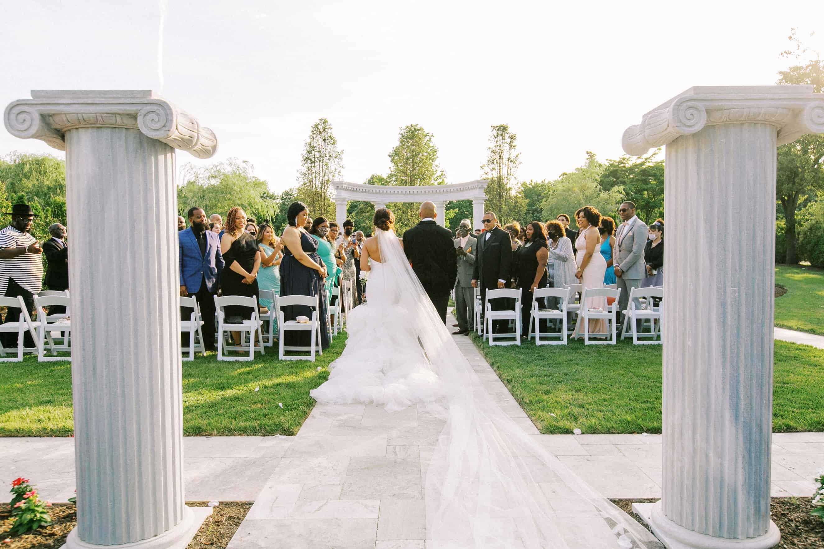 Outdoor Wedding Ceremony New Jersey