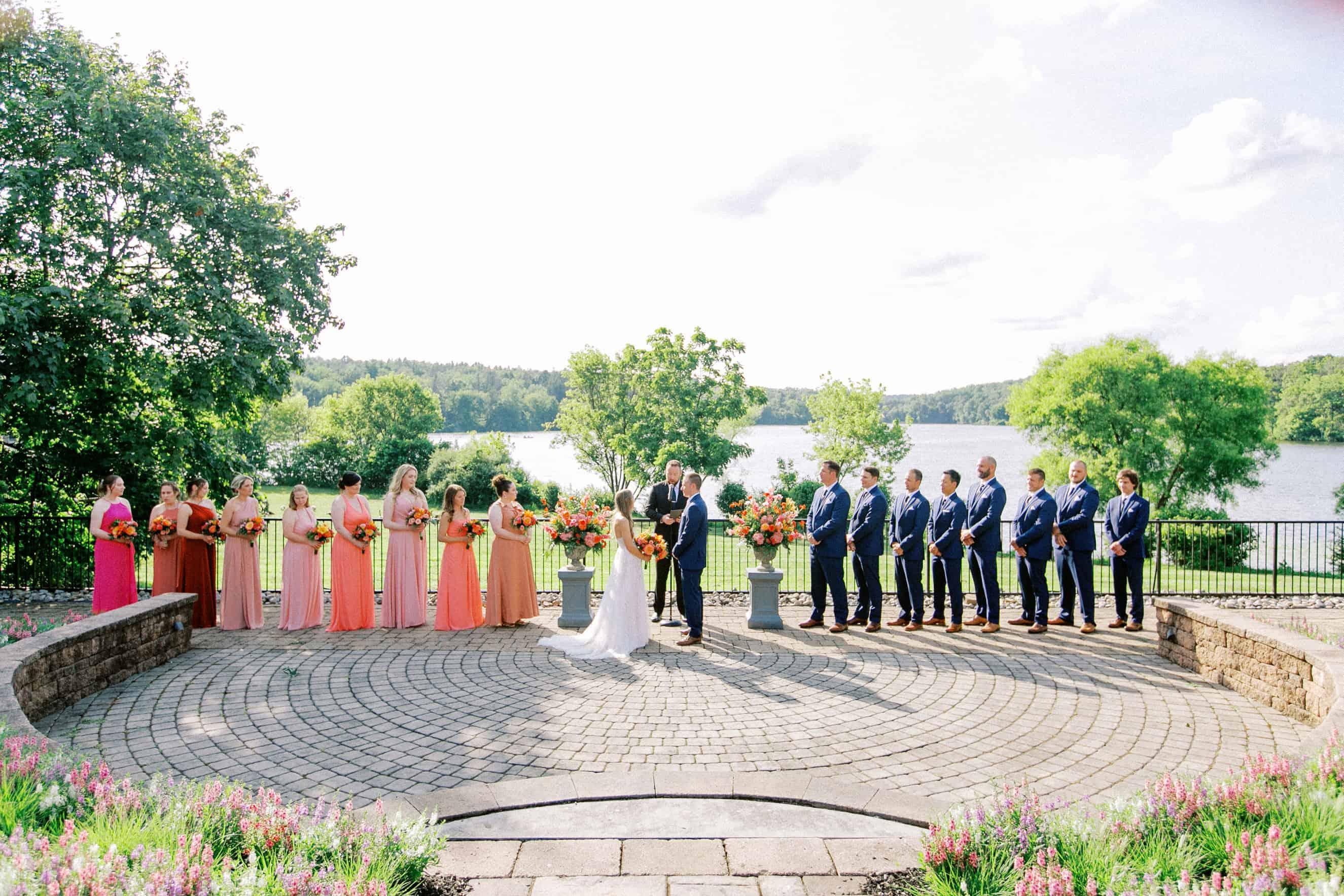 The Lake House Inn Wedding Ceremony