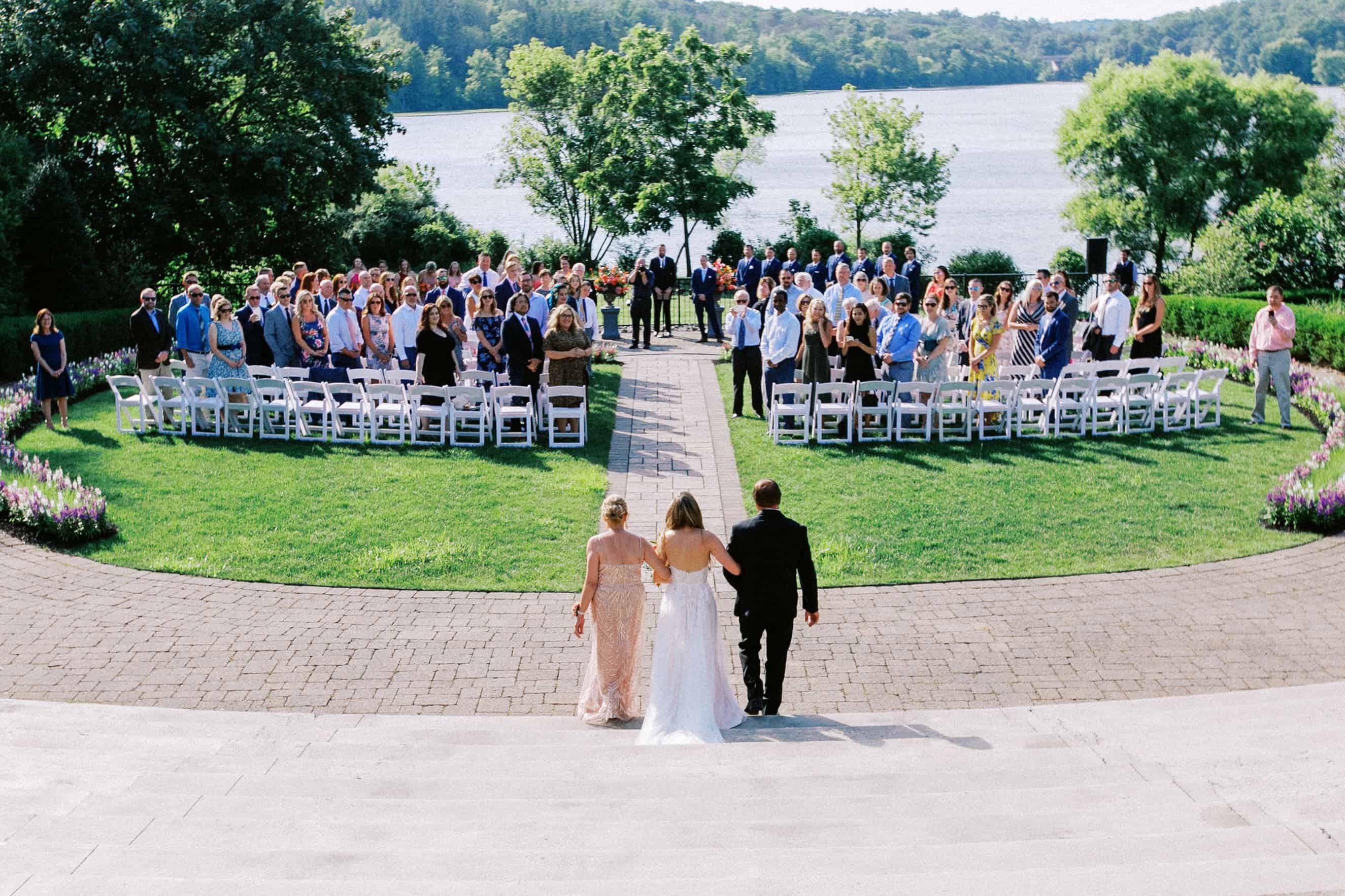 Wedding Ceremony The Lake House Inn