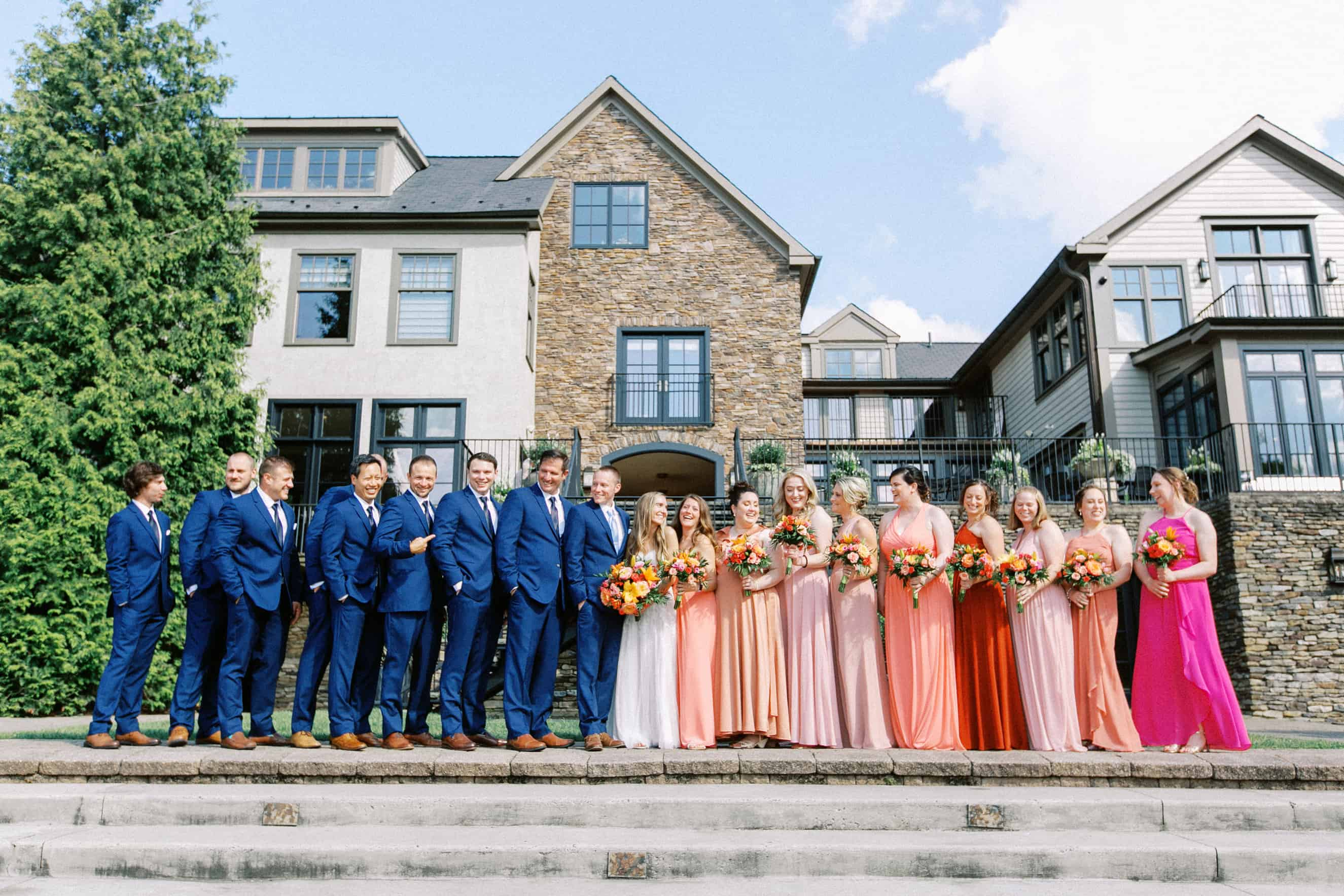 Lake House Inn Wedding Party