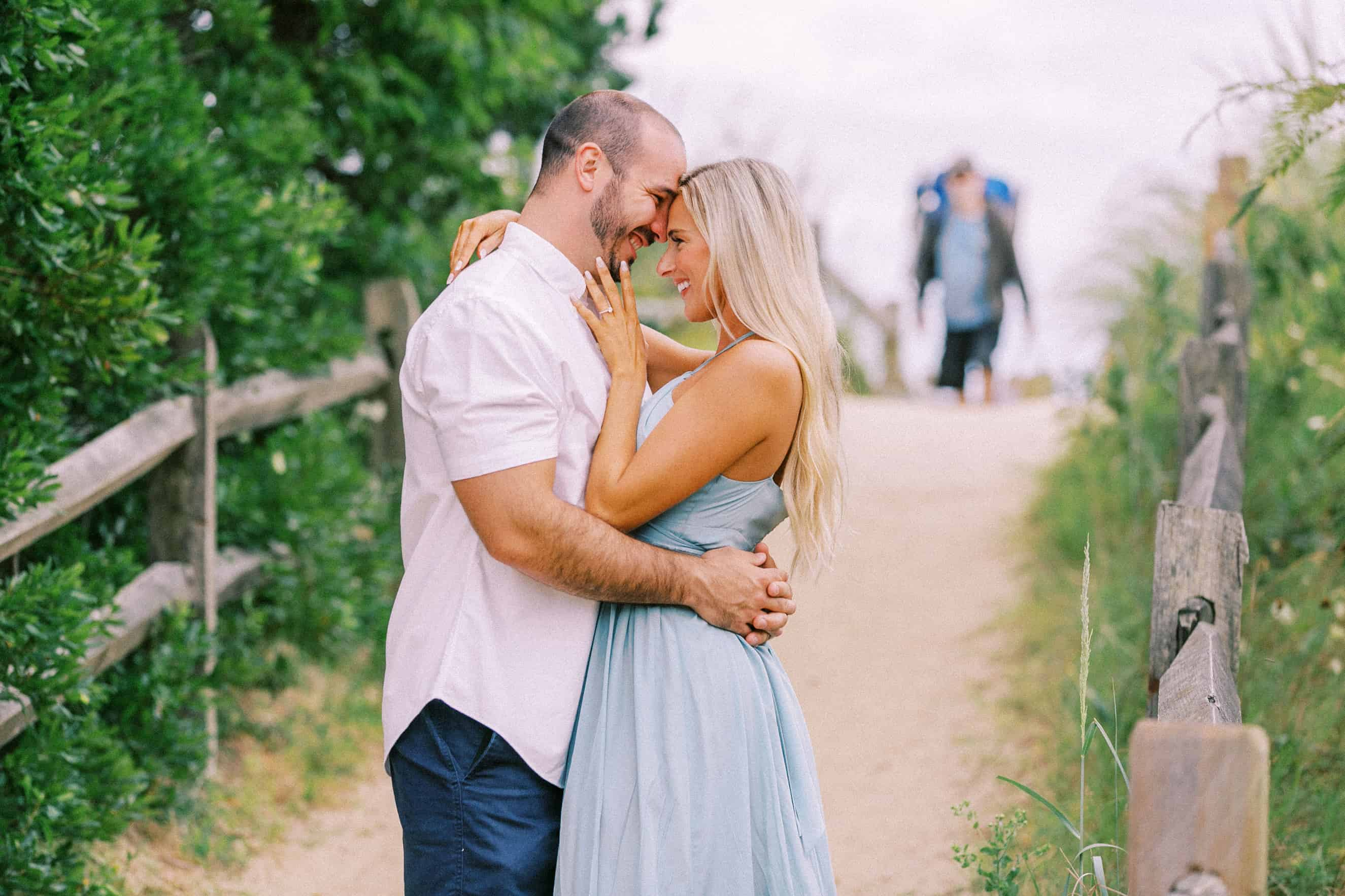 Cape May Point Engagement Photographers