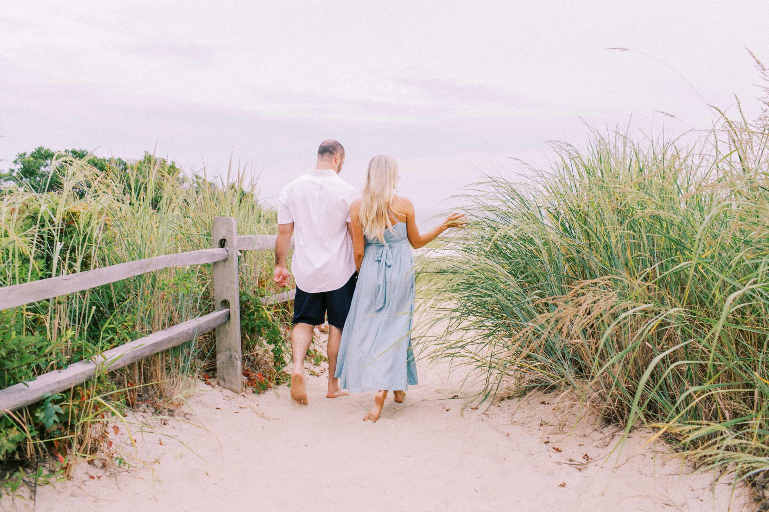 Cape May Point Engagement Photographer