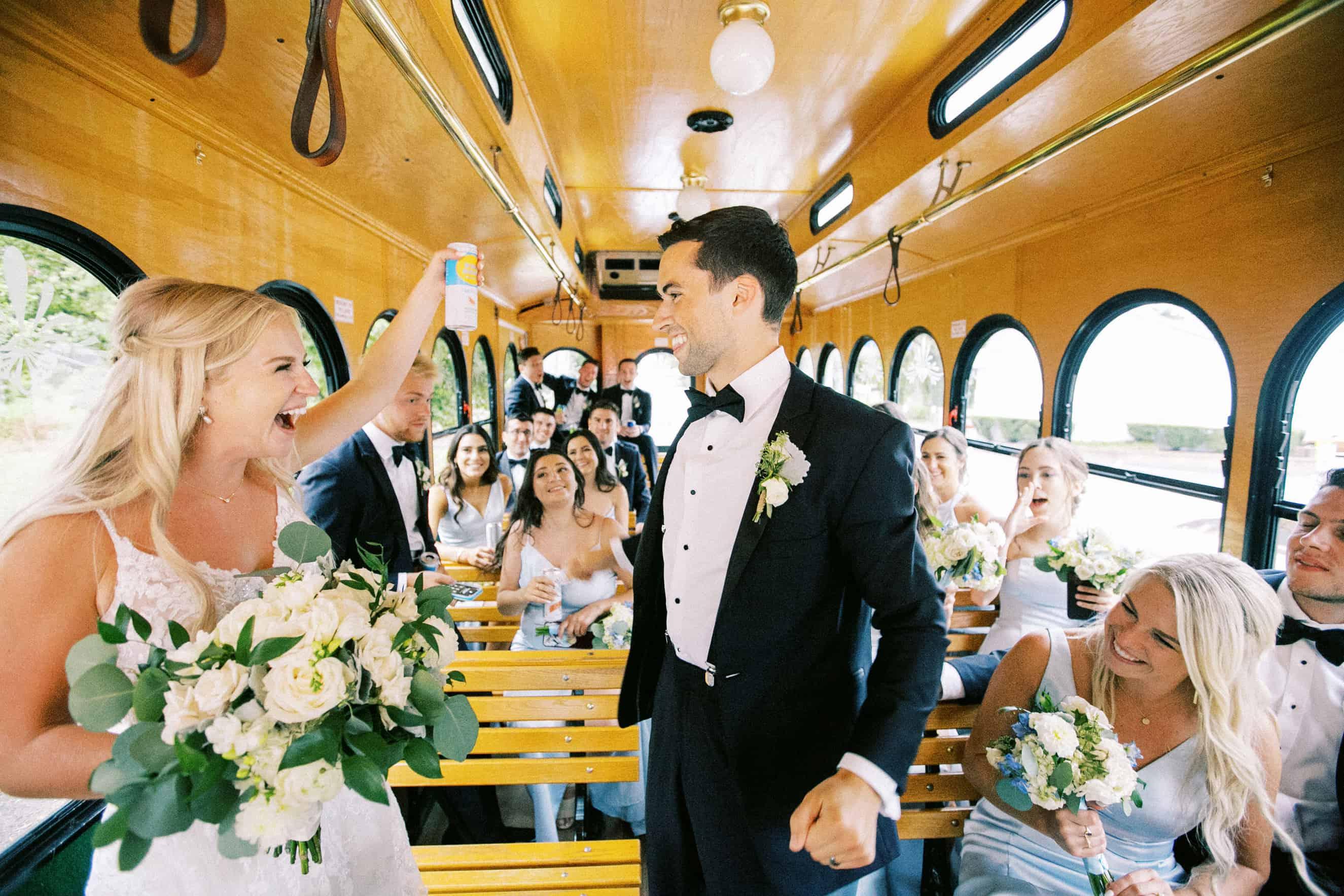 Cescaphe Party Bus Photo