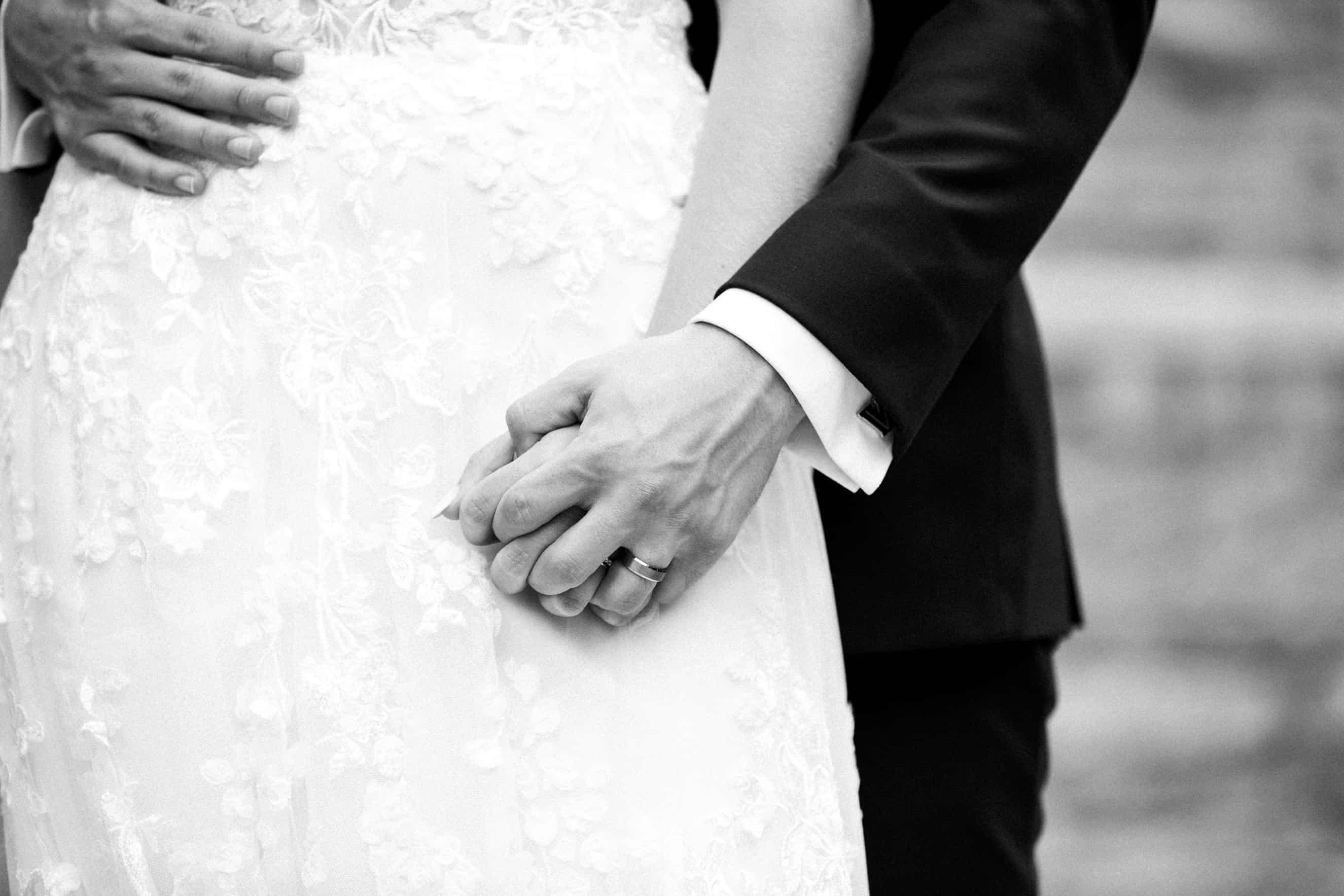Wedding on campus at Villanova