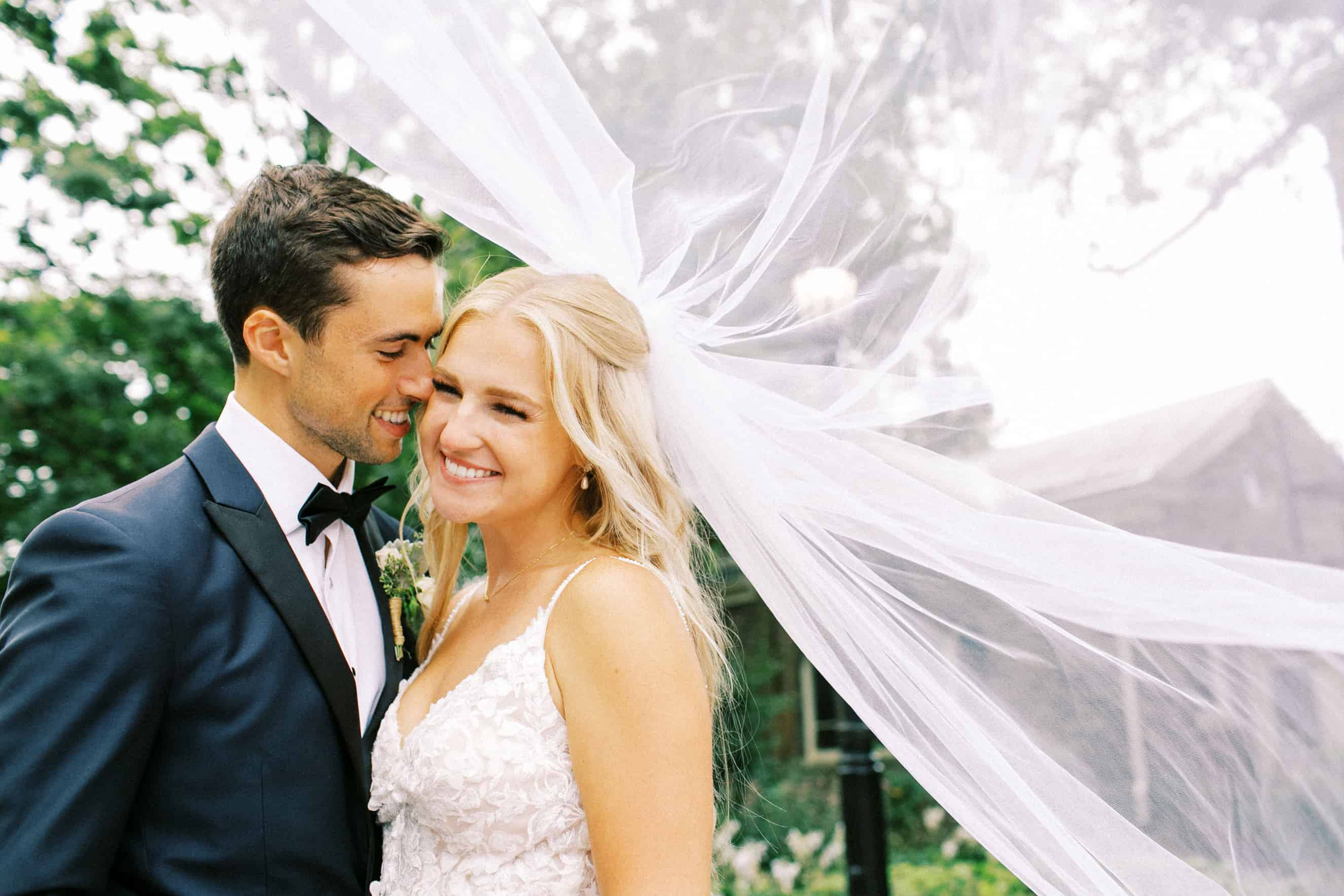 Villanova Wedding Couple
