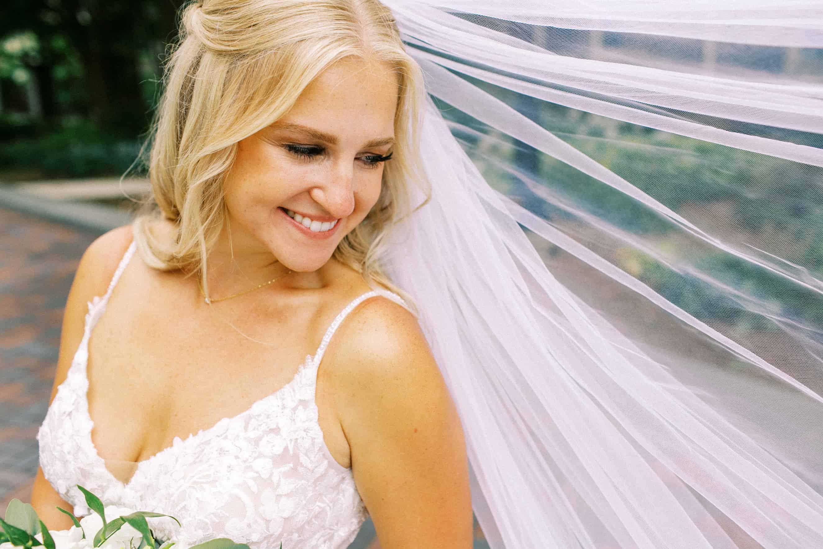 Wedding photo at Villanova University