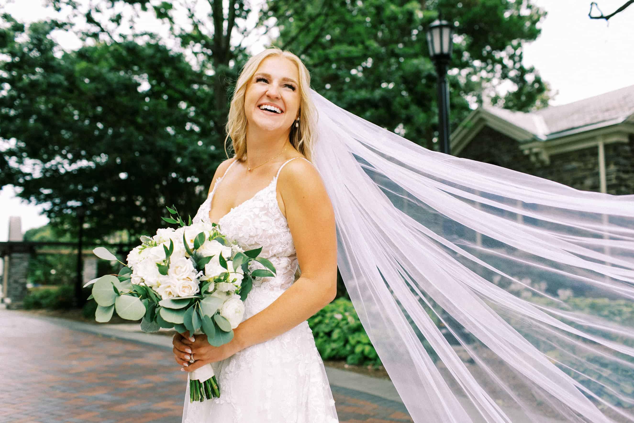Wedding photos at Villanova University