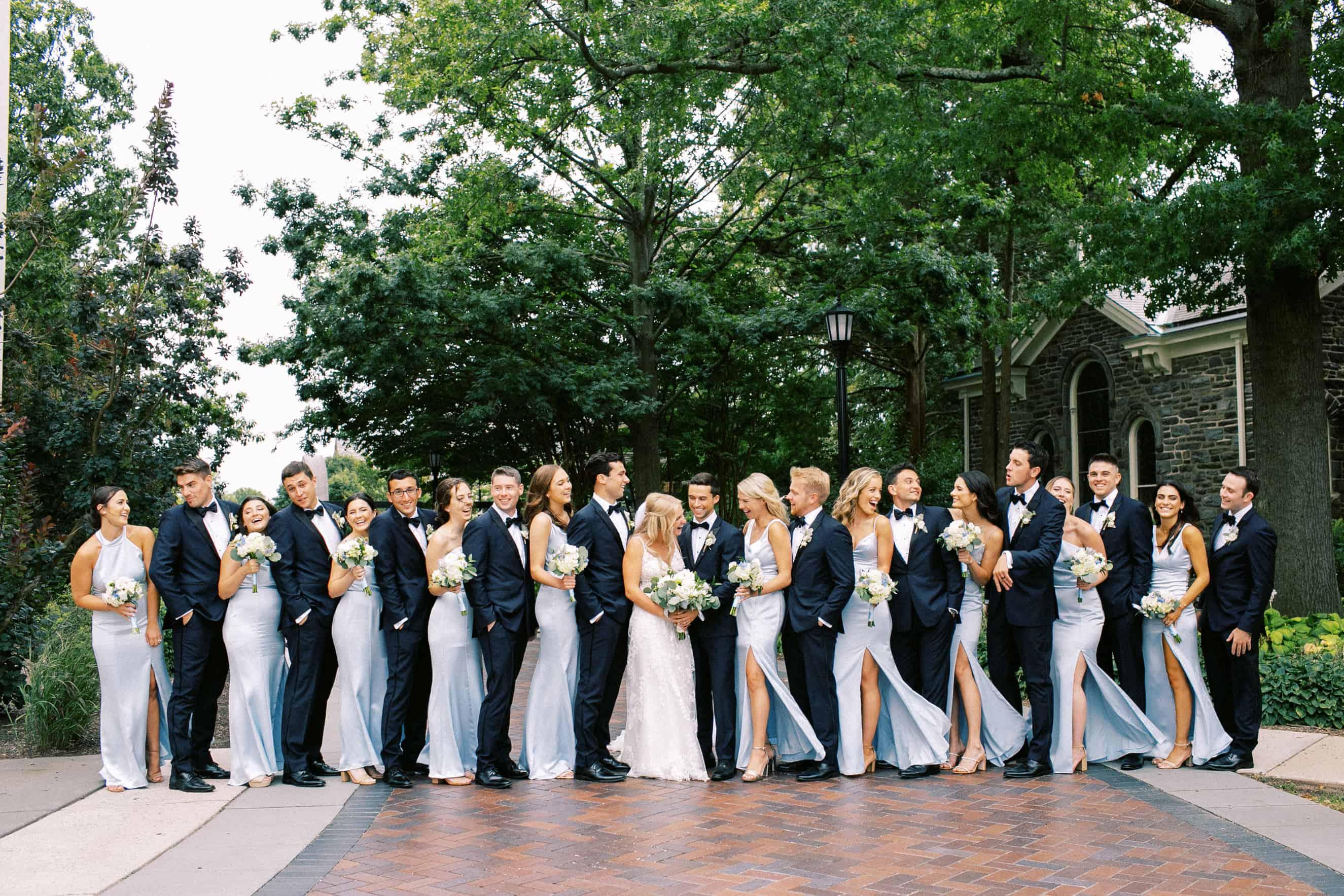 Villanova university Wedding Party