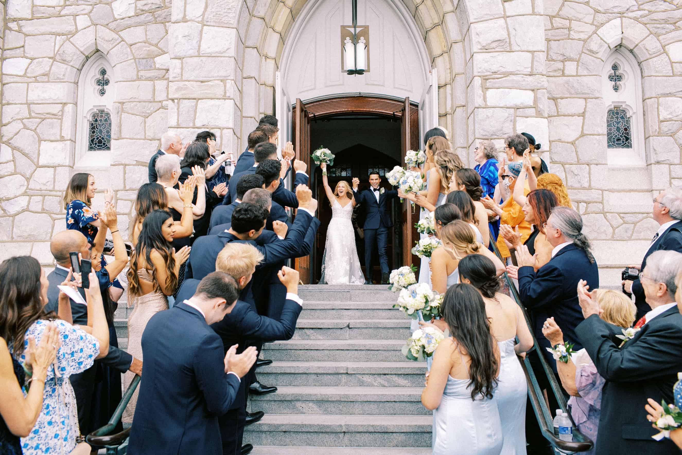 Villanova University Wedding Picture