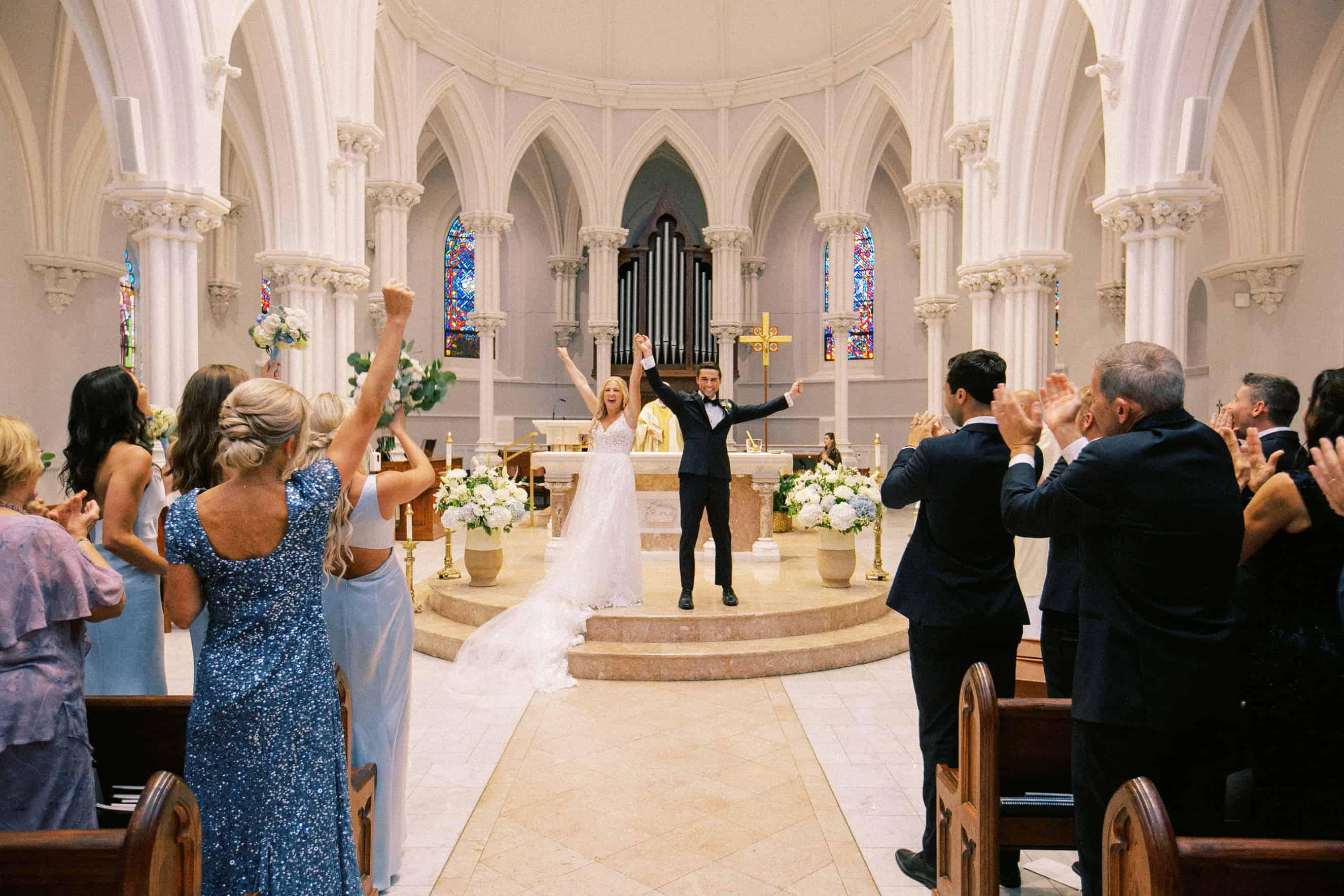 Weddings at Villanova Chapel