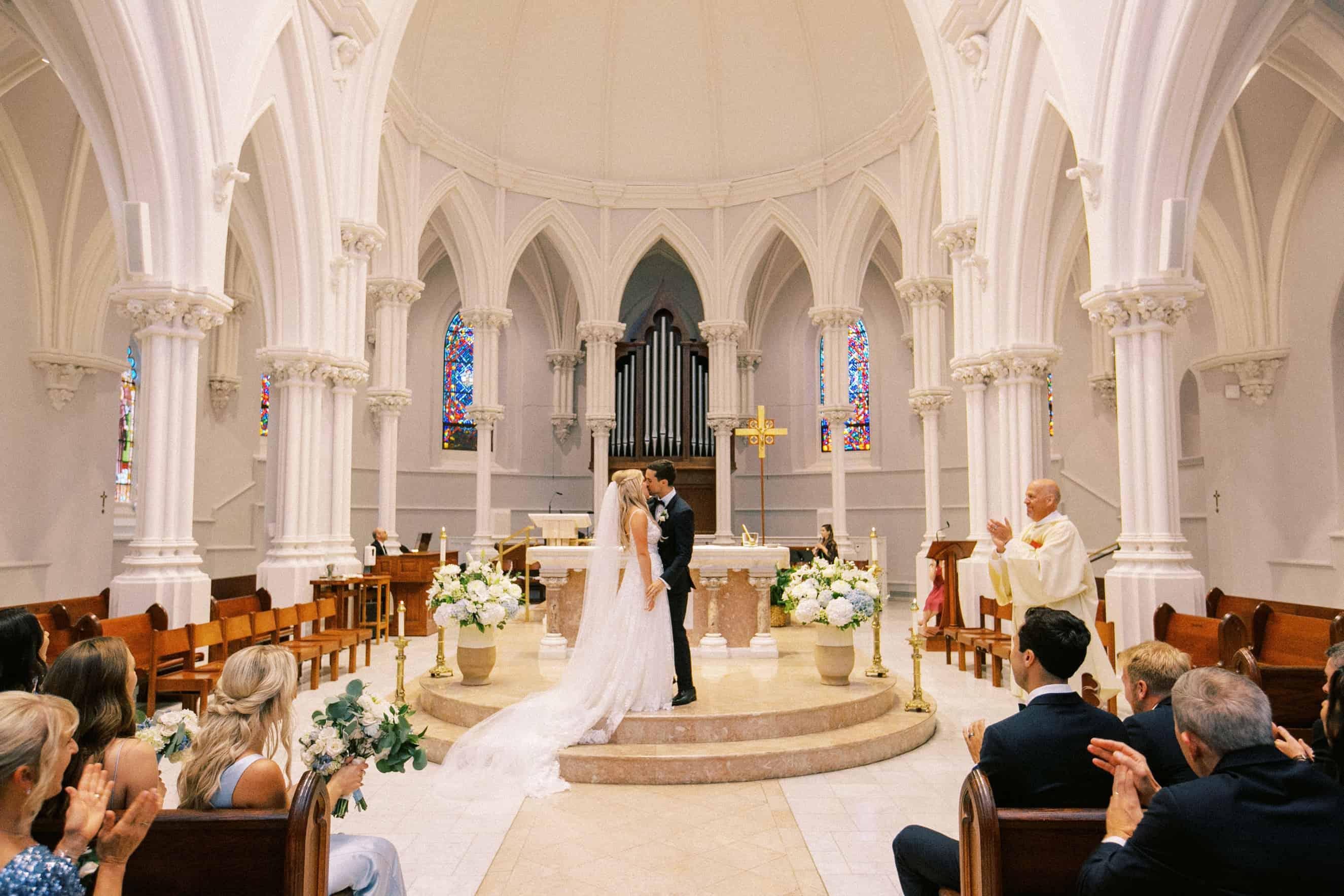 Wedding at Villanova Chapel