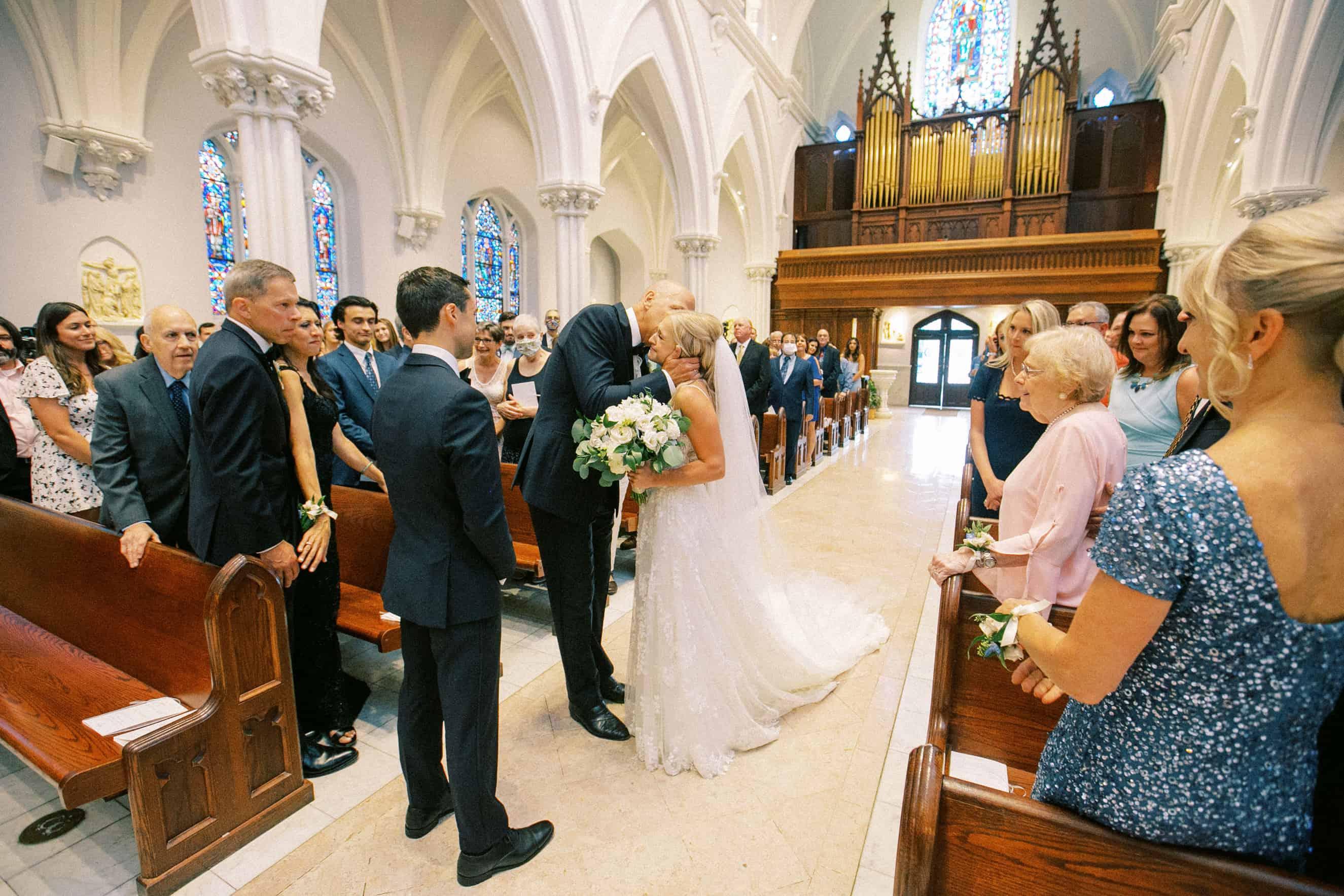 Villanova Chapel Wedding Ceremony