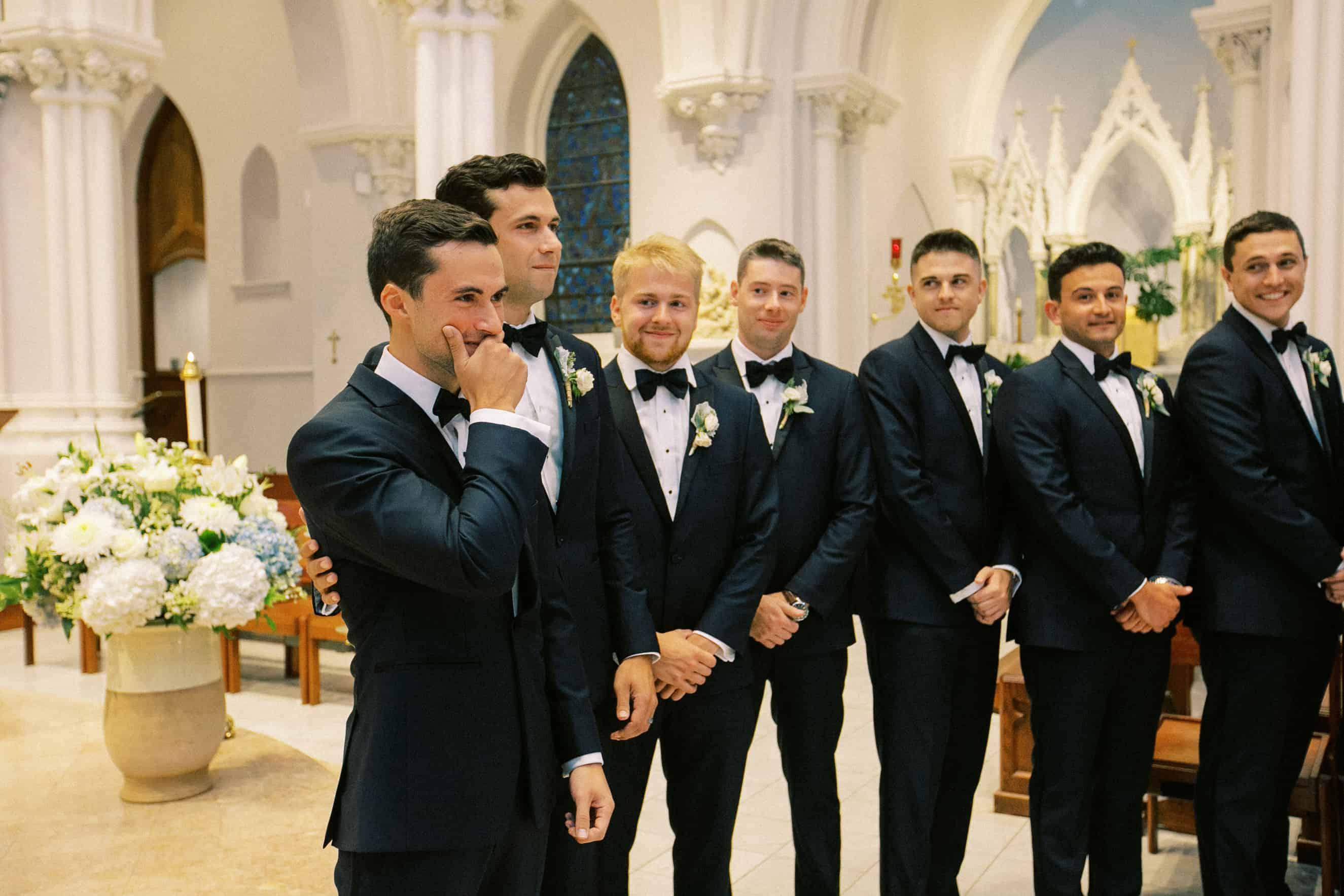 Wedding ceremony Villanova