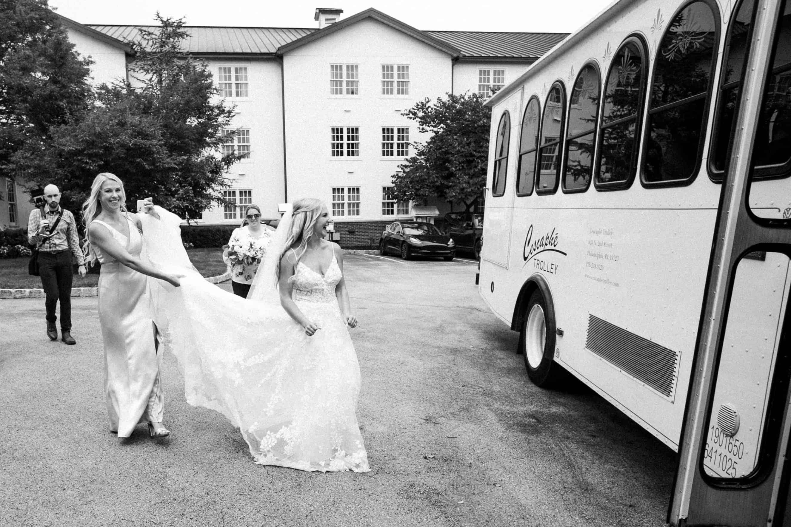 Normandy Farm Wedding Party