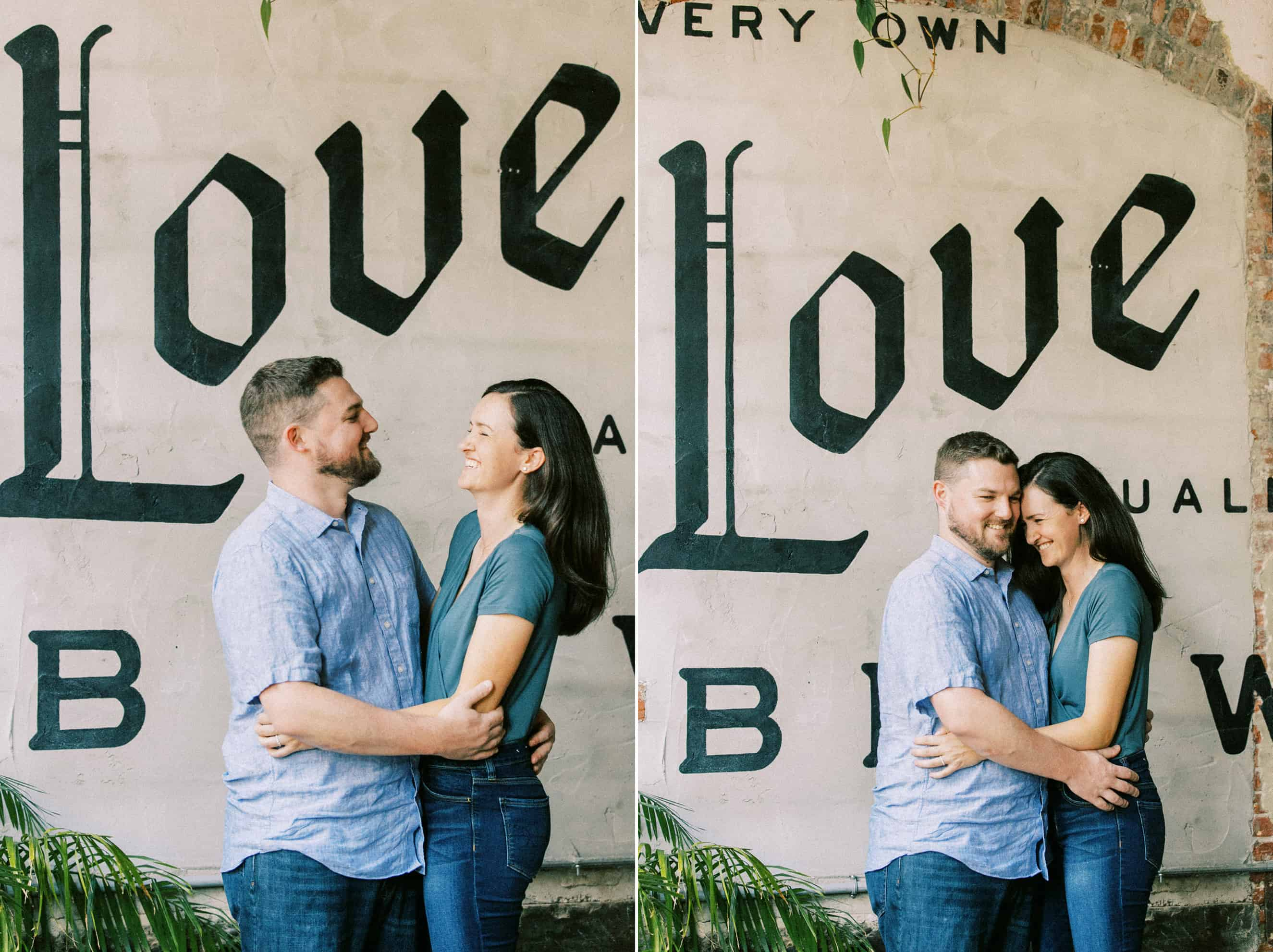 Engagement Photos Love City Brewing
