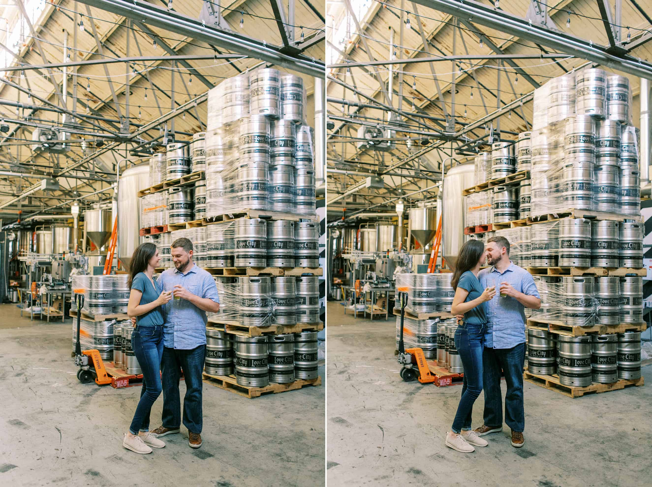 Engagement Session Love City Brewing